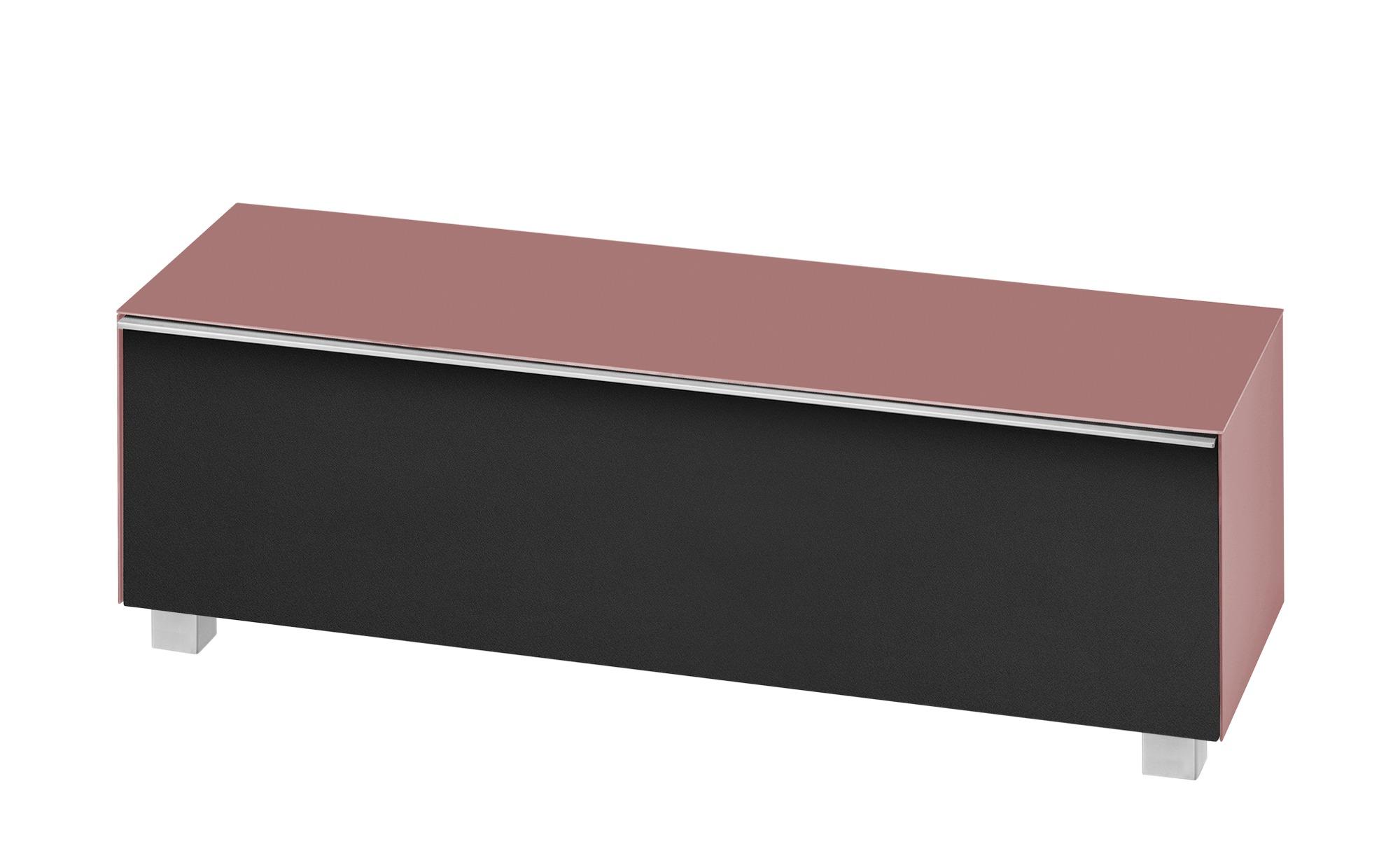 Lowboard  Soundbase L ¦ rosa/pink ¦ Maße (cm): B: 180 H: 43 T: 42 Kommoden & Sideboards > Lowboards - Höffner