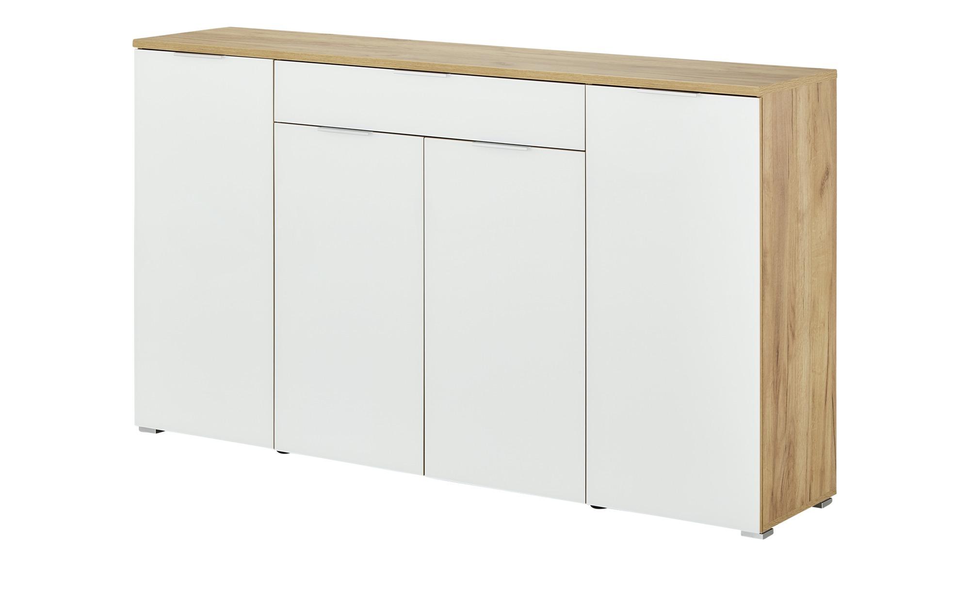 uno Sideboard  Bent ¦ holzfarben ¦ Maße (cm): B: 180 H: 105 T: 40 Kommoden & Sideboards > Kommoden - Höffner