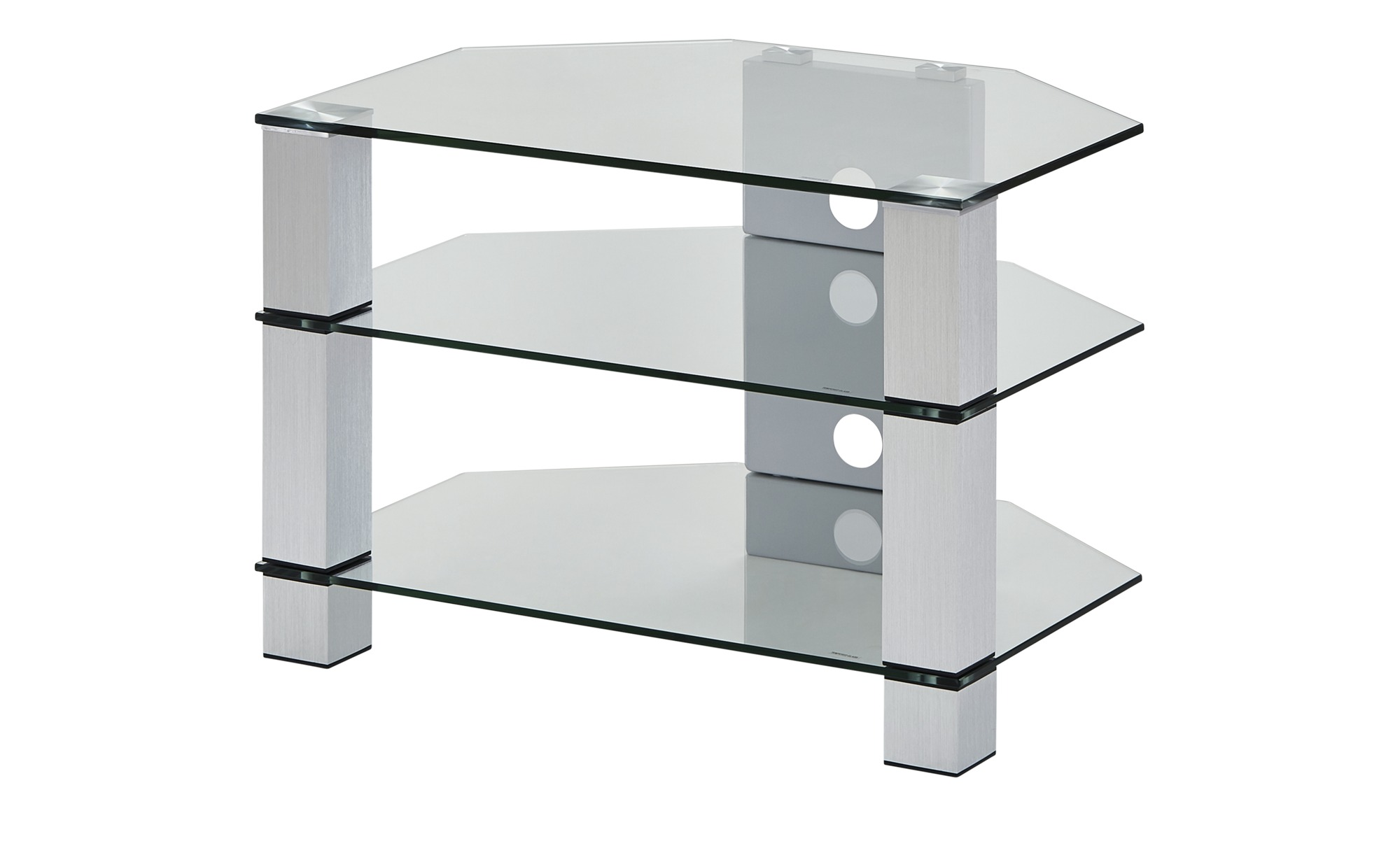 TV-Rack  Merseburg I ¦ transparent/klar ¦ Maße (cm): B: 70 H: 50 T: 50 TV- & Media Möbel > TV-Racks - Höffner