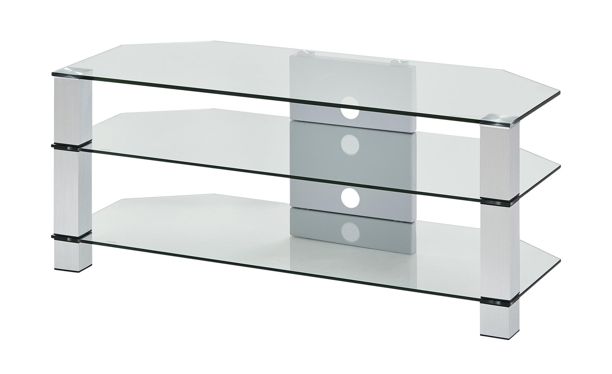 TV-Rack  Merseburg II ¦ transparent/klar ¦ Maße (cm): B: 120 H: 50 T: 50 TV- & Media Möbel > TV-Racks - Höffner