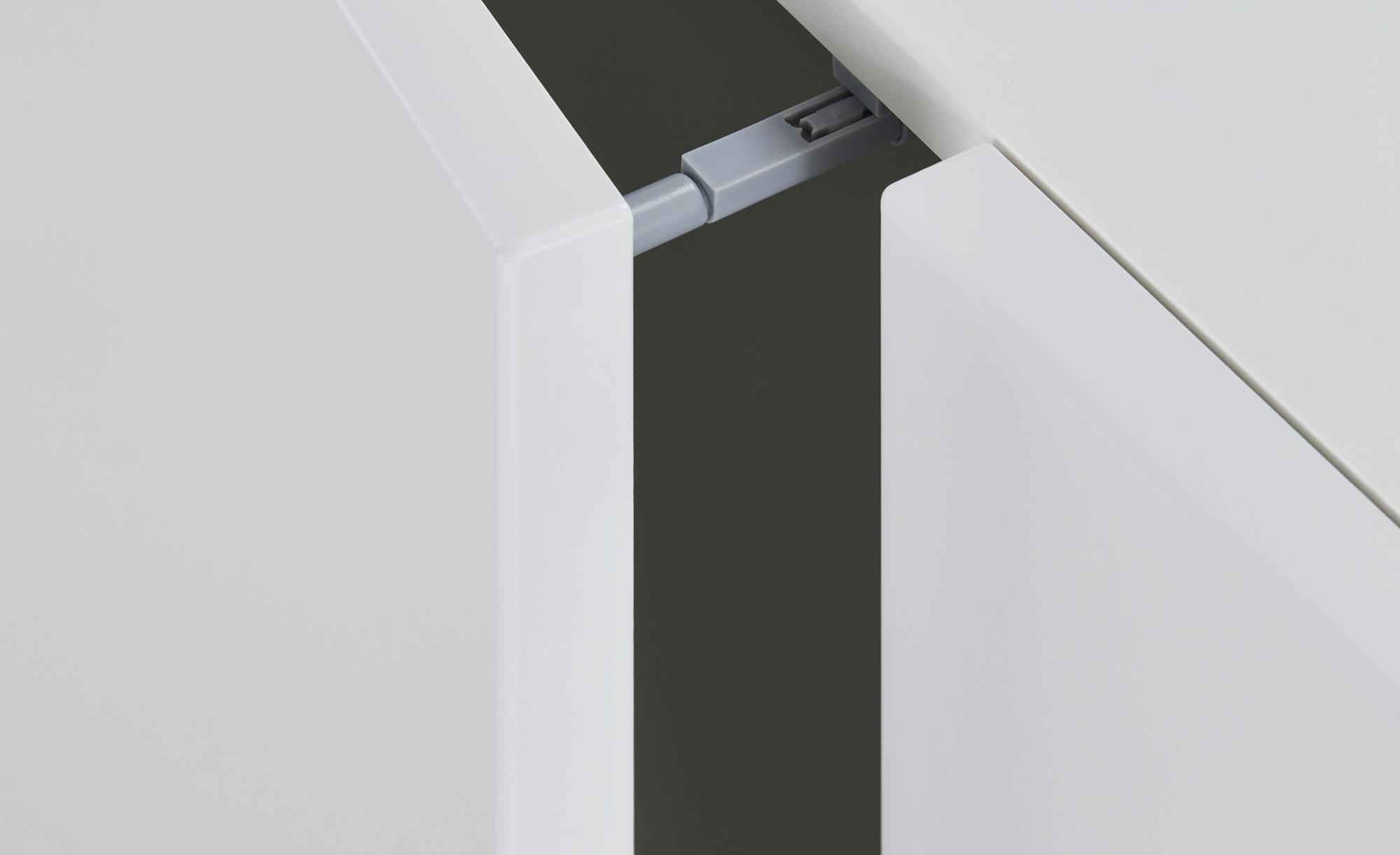 Sideboard  Konstanz ¦ weiß ¦ Maße (cm): B: 150 H: 75 T: 41 Kommoden & Sideboards > Kommoden - Höffner