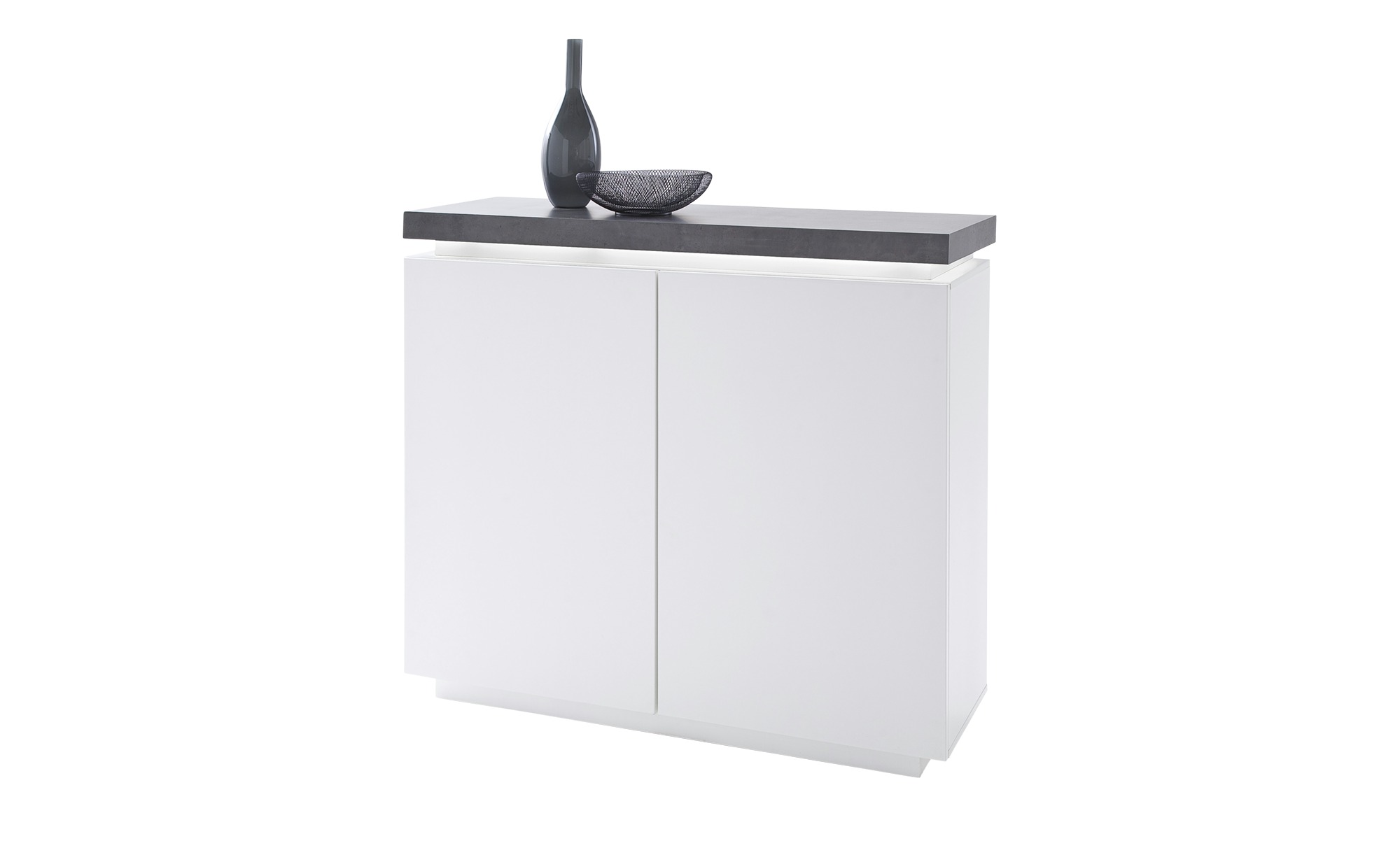 Highboard  Fornico ¦ weiß ¦ Maße (cm): B: 120 H: 113 T: 40 Kommoden & Sideboards > Highboards - Höffner