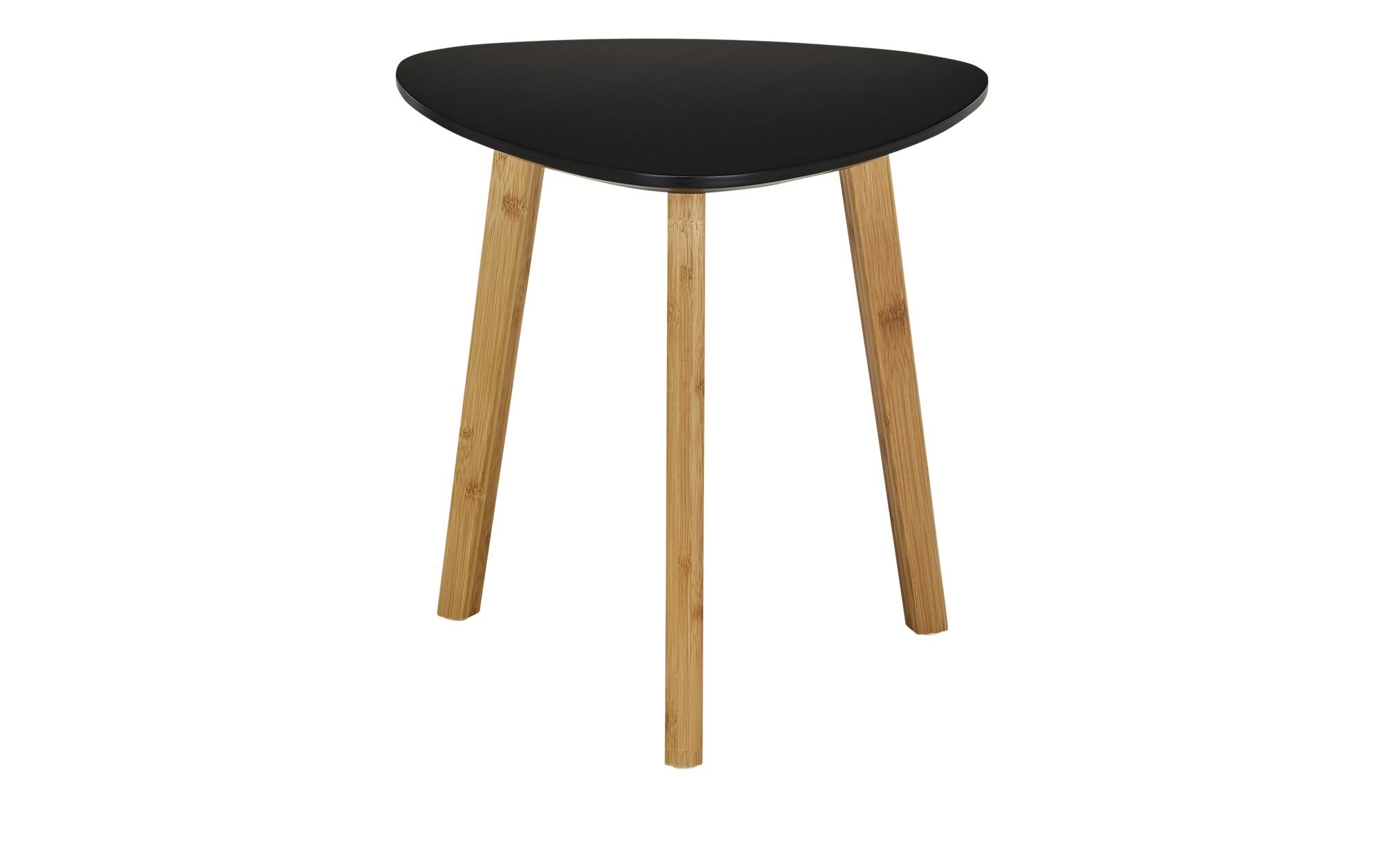 Beistelltisch  Bamboo ¦ schwarz ¦ Maße (cm): B: 40 H: 40 Tische > Beistelltische > Beistelltische ohne Rollen - Höffner
