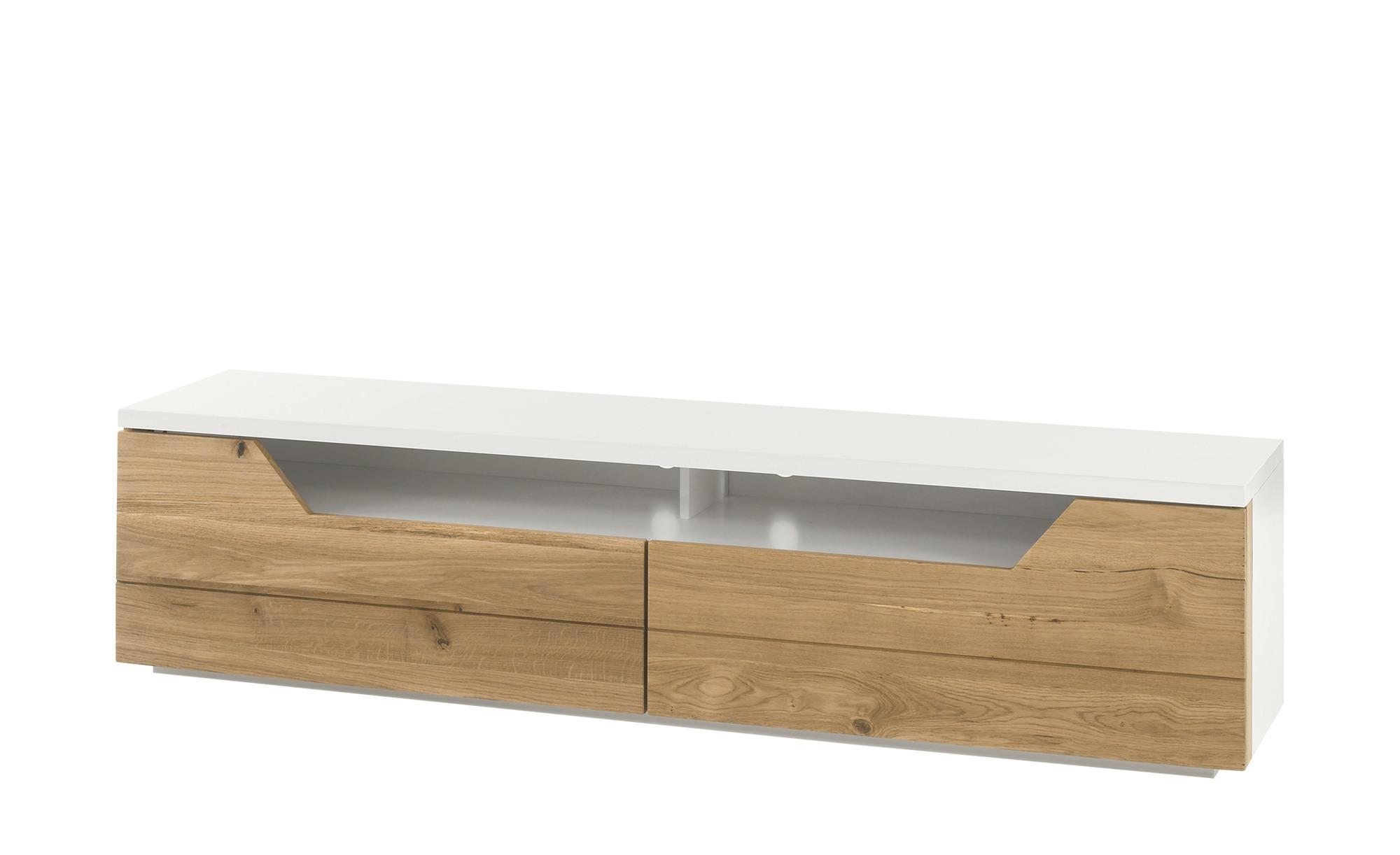 Tv Lowboard Cervinia Holzfarben Maße Cm B 180 H 44 T 40 Tv