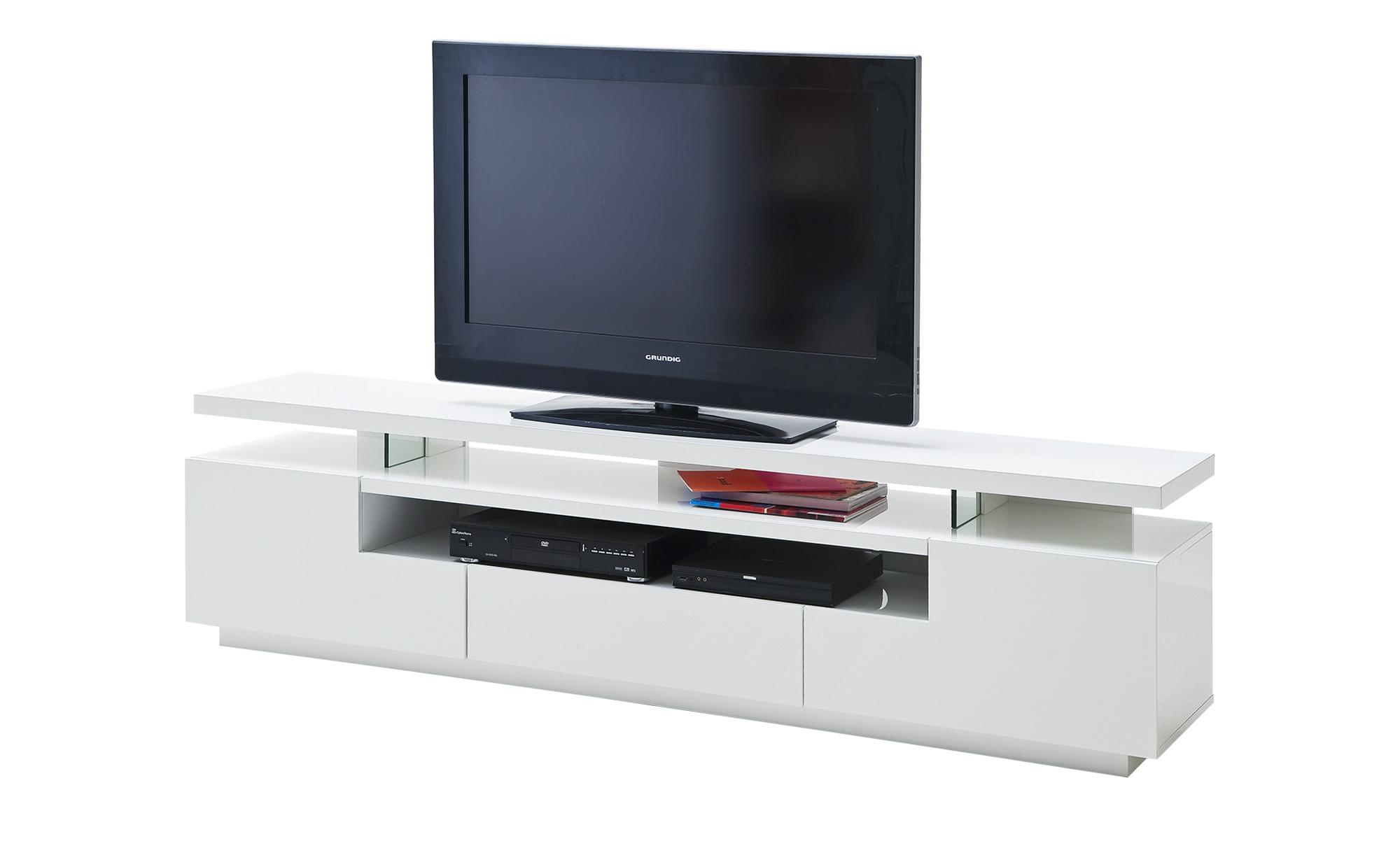 TV-Lowboard  Pienza ¦ weiß ¦ Maße (cm): B: 200 H: 51 T: 42 TV- & Media Möbel > TV-Racks - Höffner