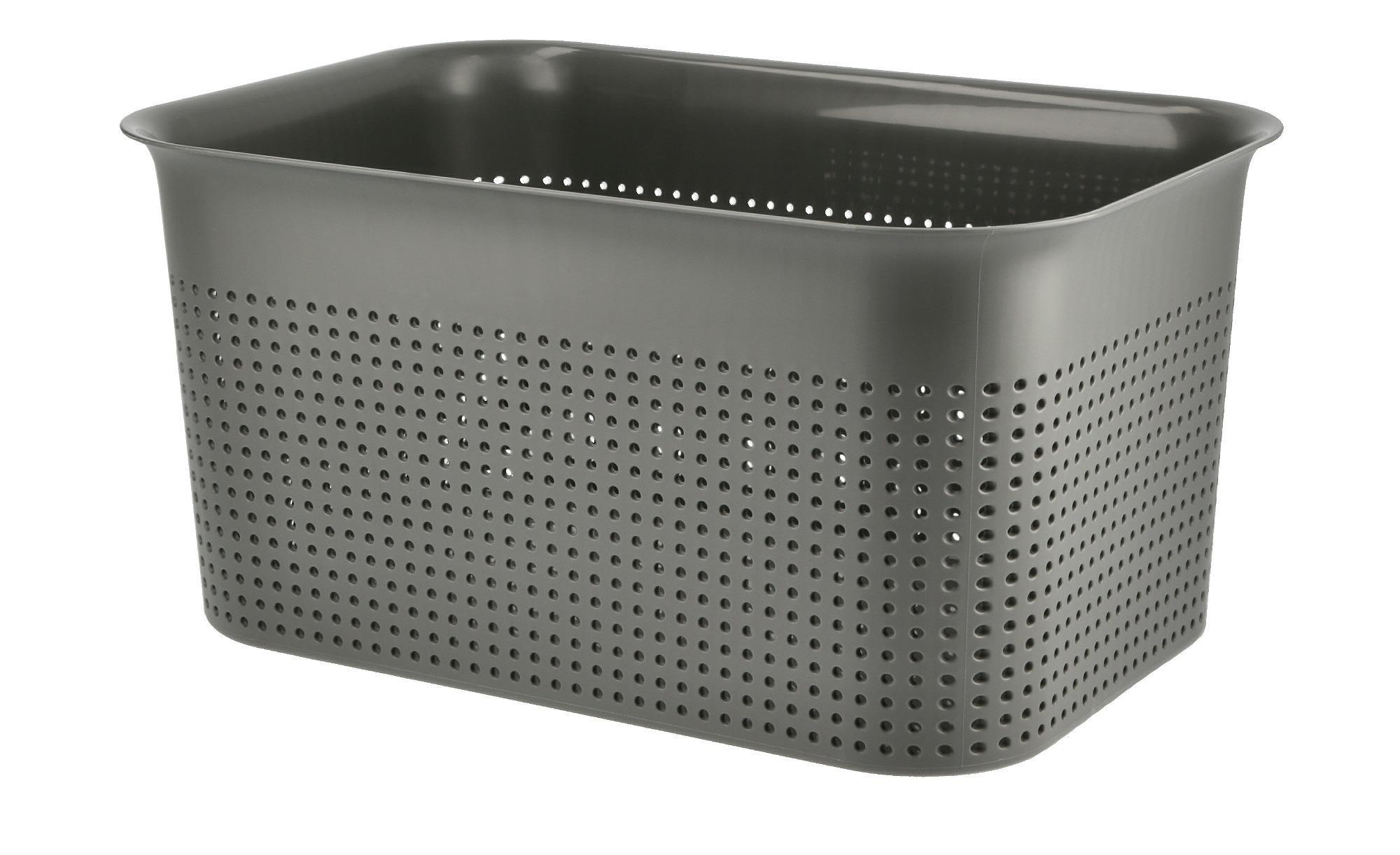 Rotho Aufbewahrungsbox ¦ grau ¦ Kunststoff Aufbewahrung > Aufbewahrungsboxen > sonstige Aufbewahrungsmittel - Höffner