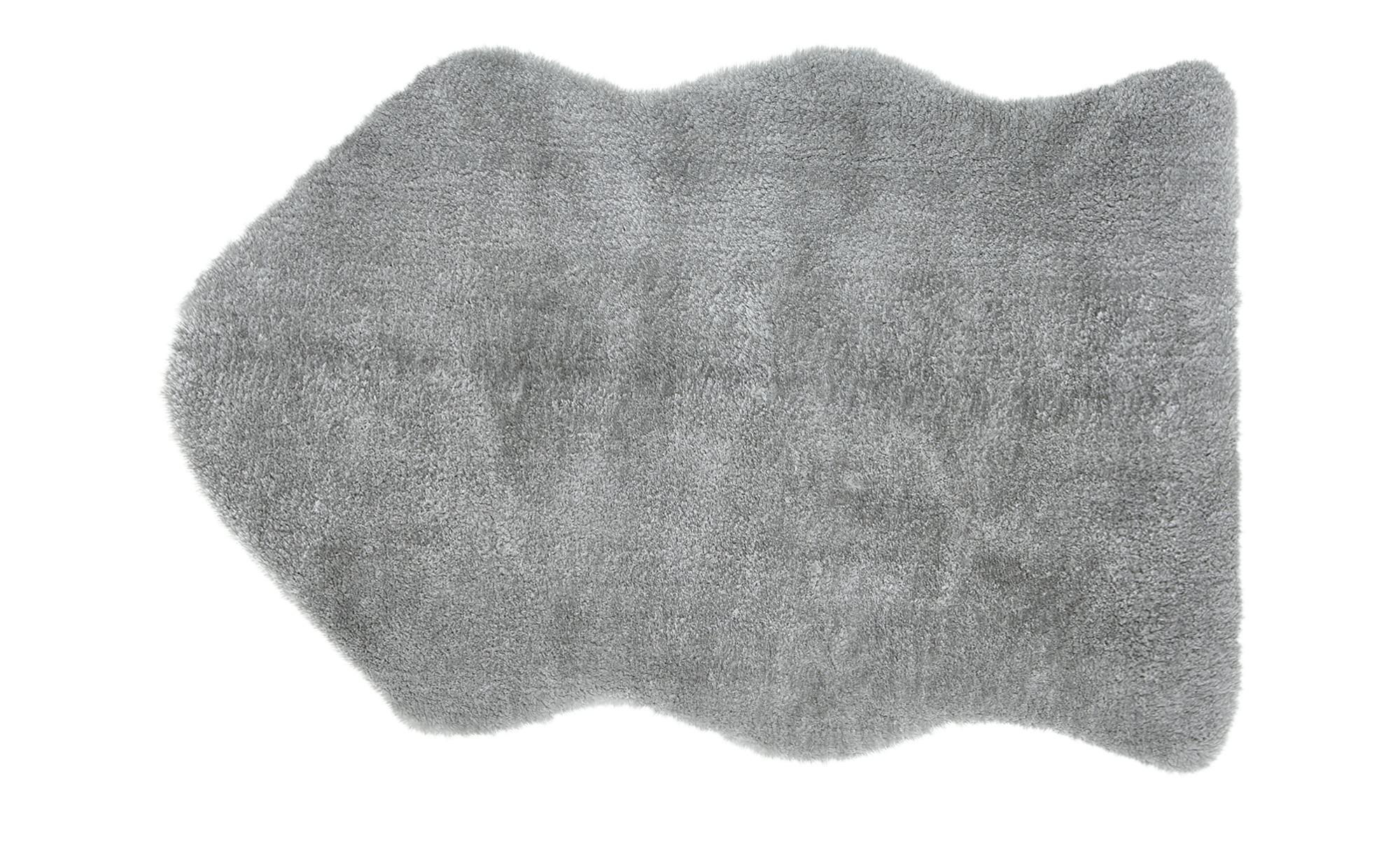 Kinderteppich  Lämmchen ¦ grau ¦ Lammfellimitat: 100% Polyester ¦ Maße (cm): B: 55 Teppiche > Kinderteppiche - Höffner