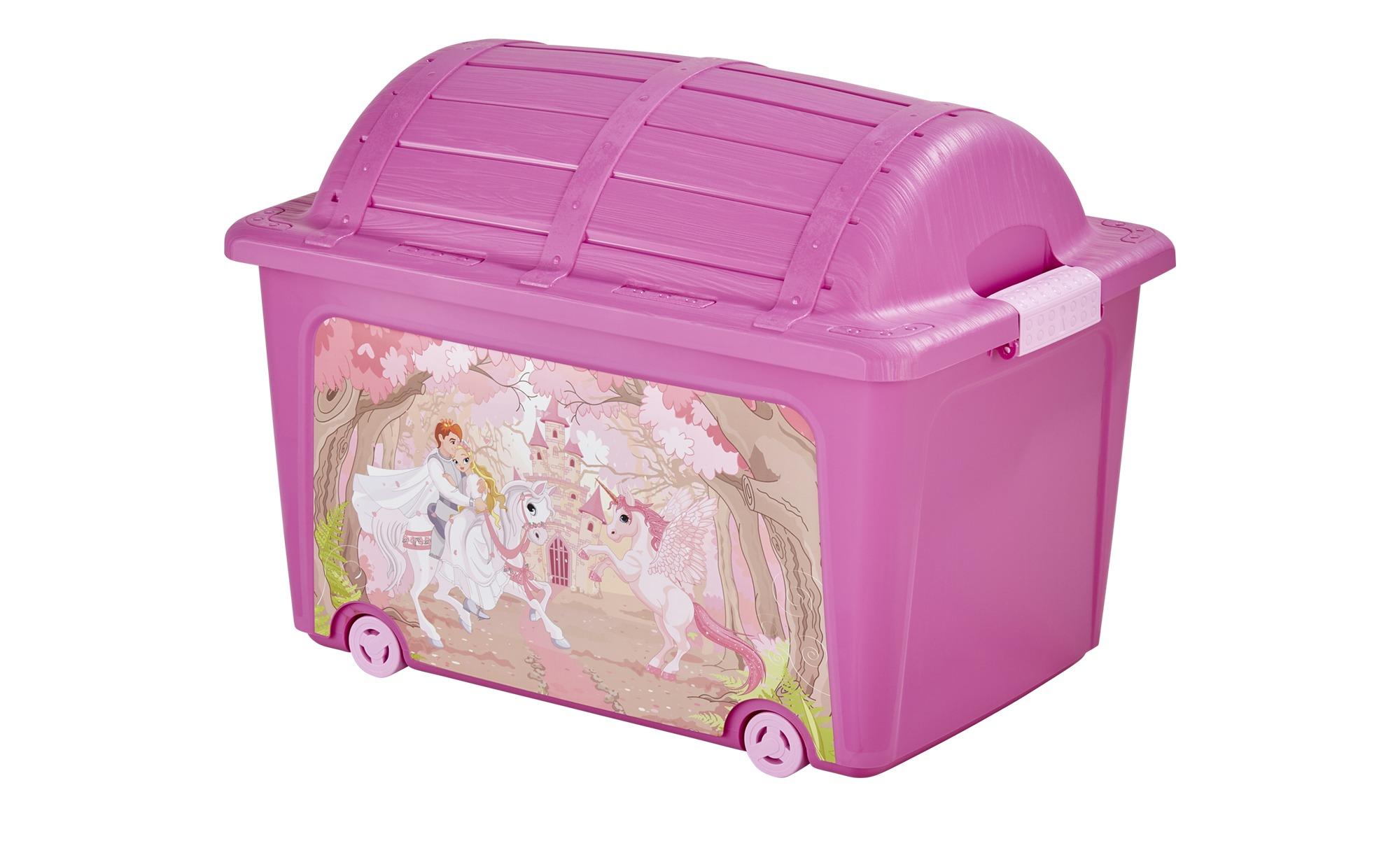 Aufbewahrungs-Box, Toy Style  Princess ¦ rosa/pink ¦ Kunststoff ¦ Maße (cm): B: 39 H: 42,5 Baby > Unterwegs > Boxen - Höffner   Garten > Gartenmöbel > Aufbewahrung   Rosa/pink   Kunststoff   Möbel Höffner DE
