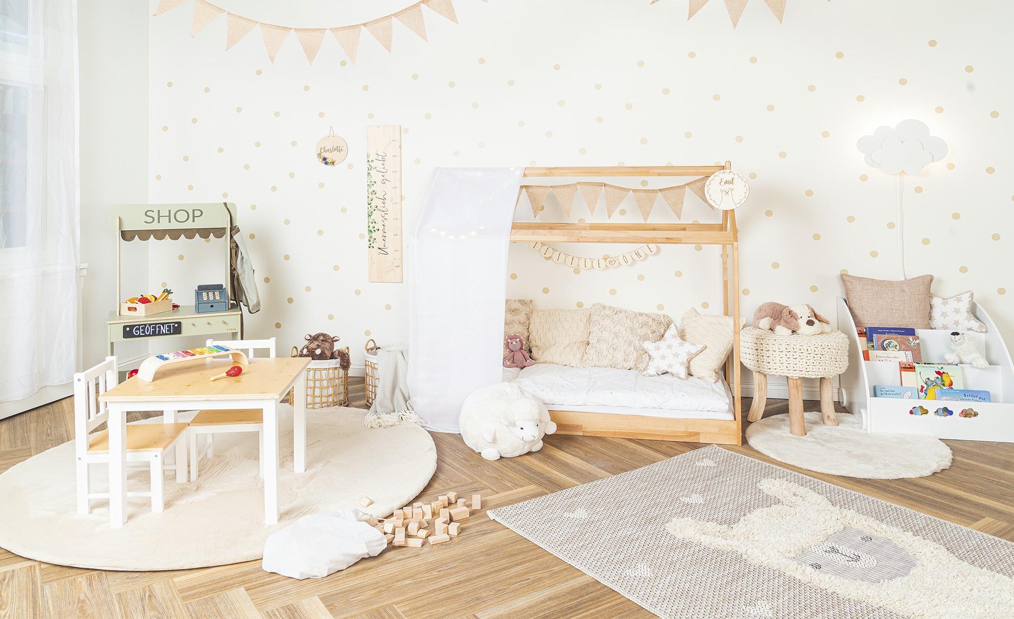 Wandlampe für Babyzimmer und Kinderzimmer