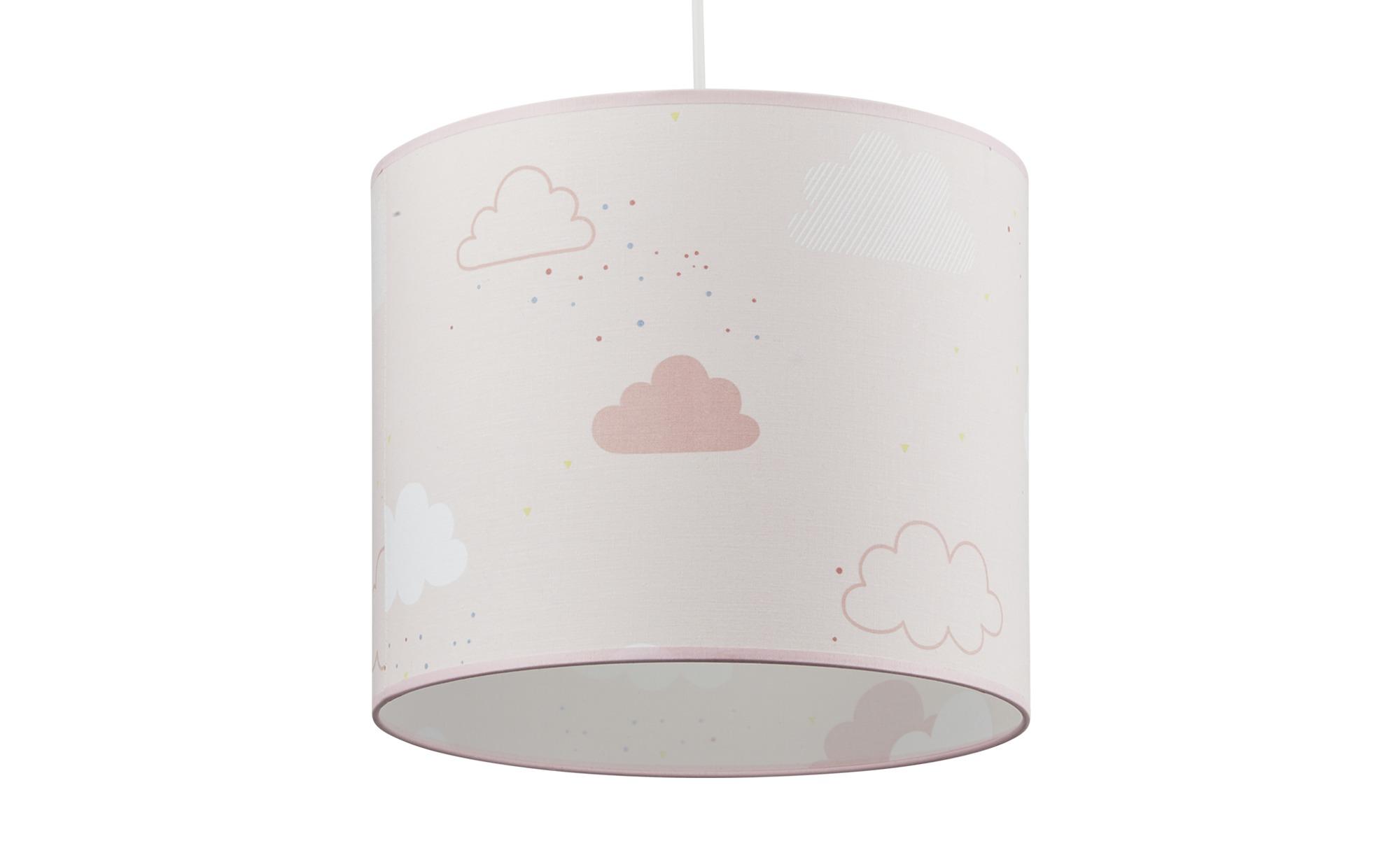 Uups Hängeleuchte  süße Wolke ¦ rosa/pink ¦ Maße (cm): H: 25 Ø: [30.0] Lampen & Leuchten > Innenleuchten > Kinderlampen - Höffner