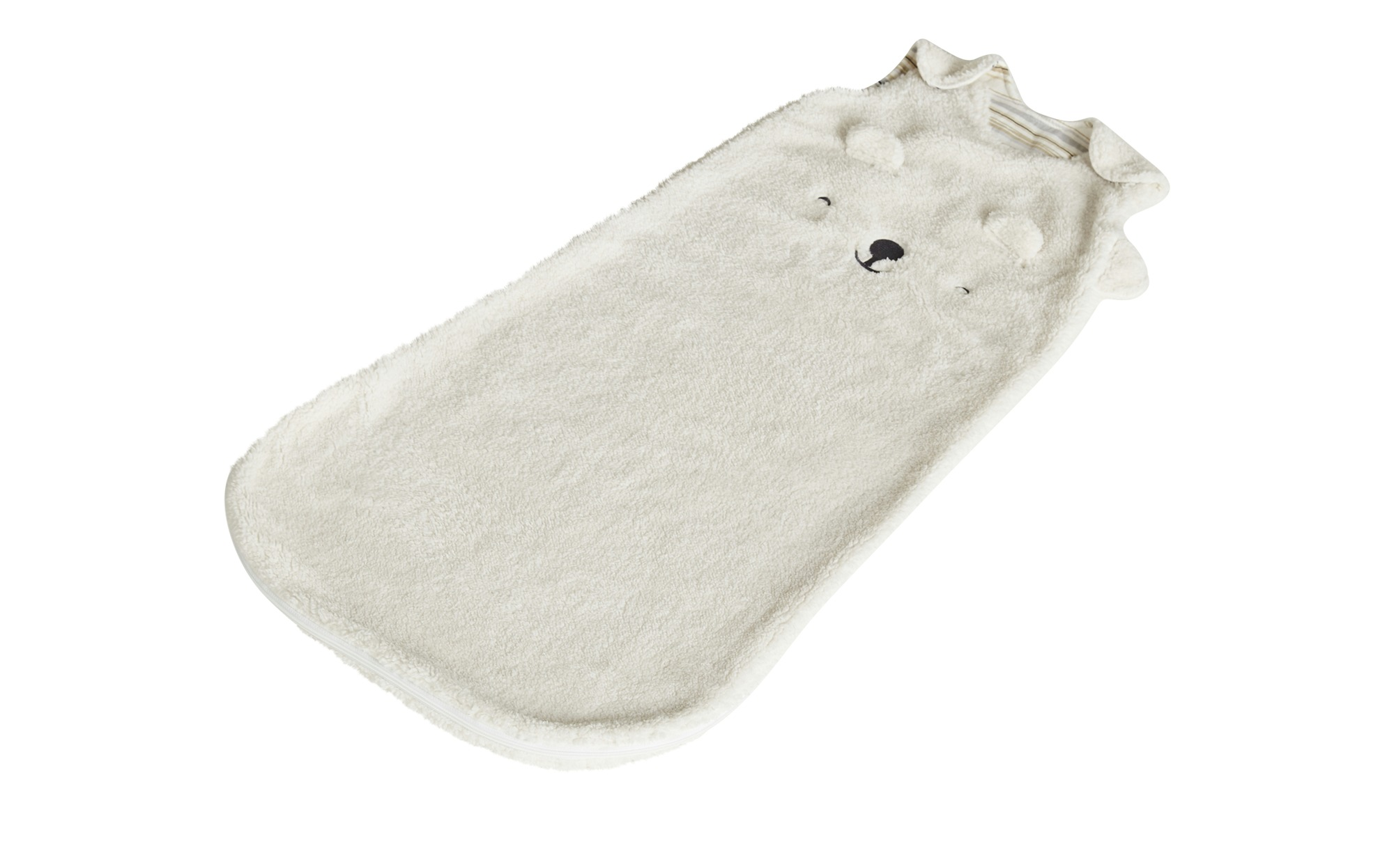 Kuscheliger Babyschlafsack mit Lammfellimitat
