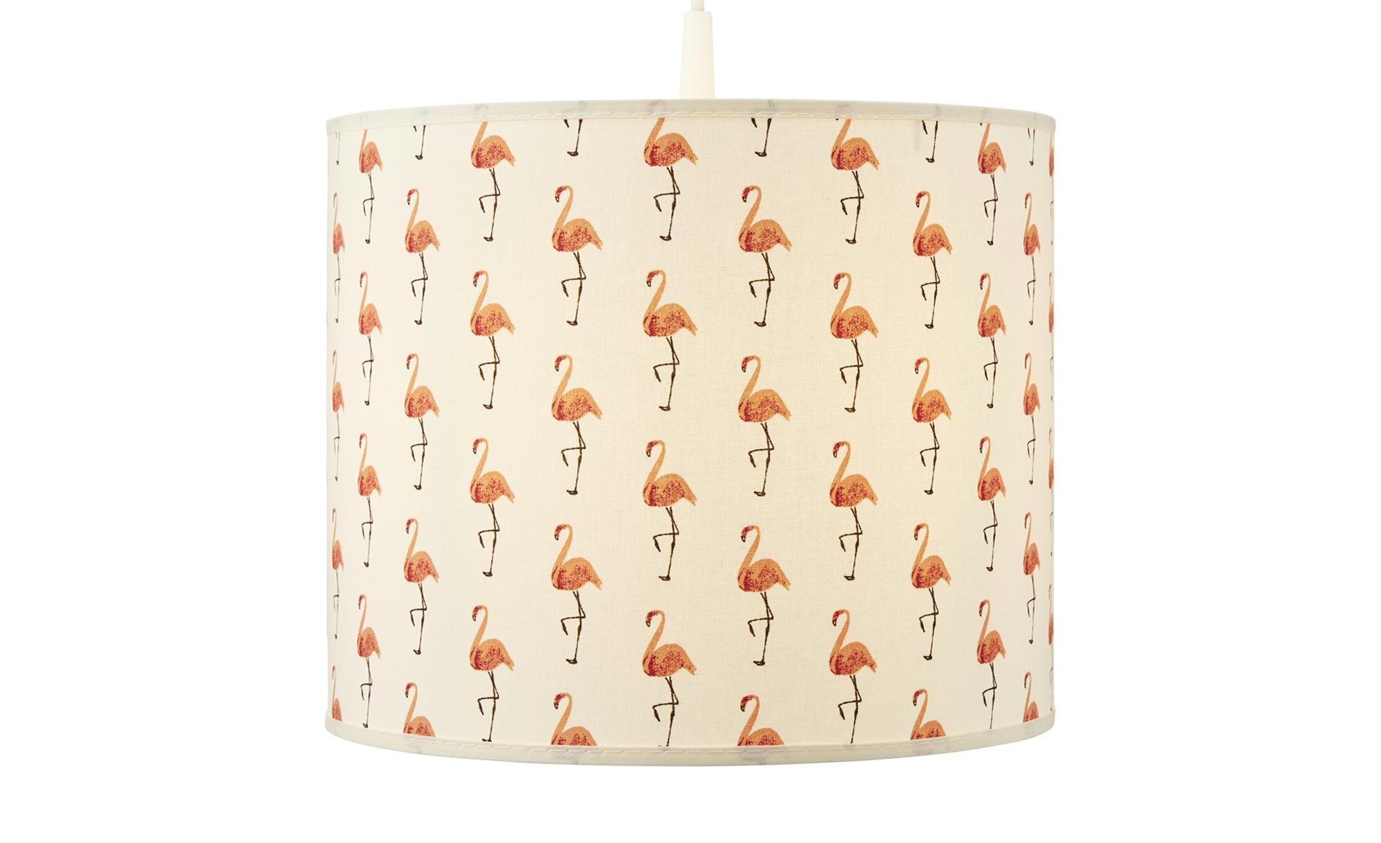 Uups Hängeleuchte  Flamingo ¦ creme ¦ Maße (cm): H: 25 Ø: 30 Lampen & Leuchten > Innenleuchten > Kinderlampen - Höffner