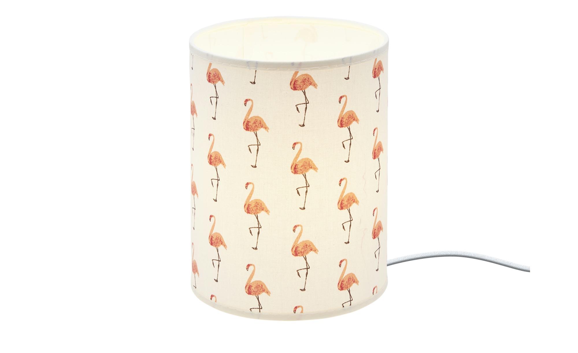 Uups Tischleuchte  Flamingo ¦ creme ¦ Maße (cm): H: 20 Ø: 15 Lampen & Leuchten > Innenleuchten > Kinderlampen - Höffner
