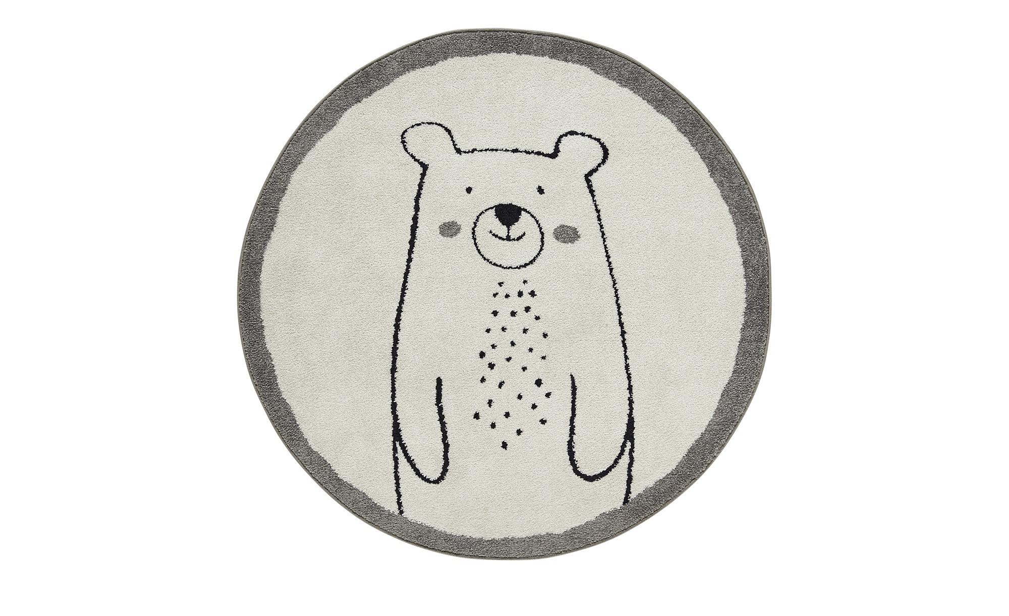 Kinderteppich   Eisbär Kalle ¦ weiß ¦ 100% Polypropylen, Synthethische FasernØ: [120.0] Teppiche > Kinderteppiche - Höffner