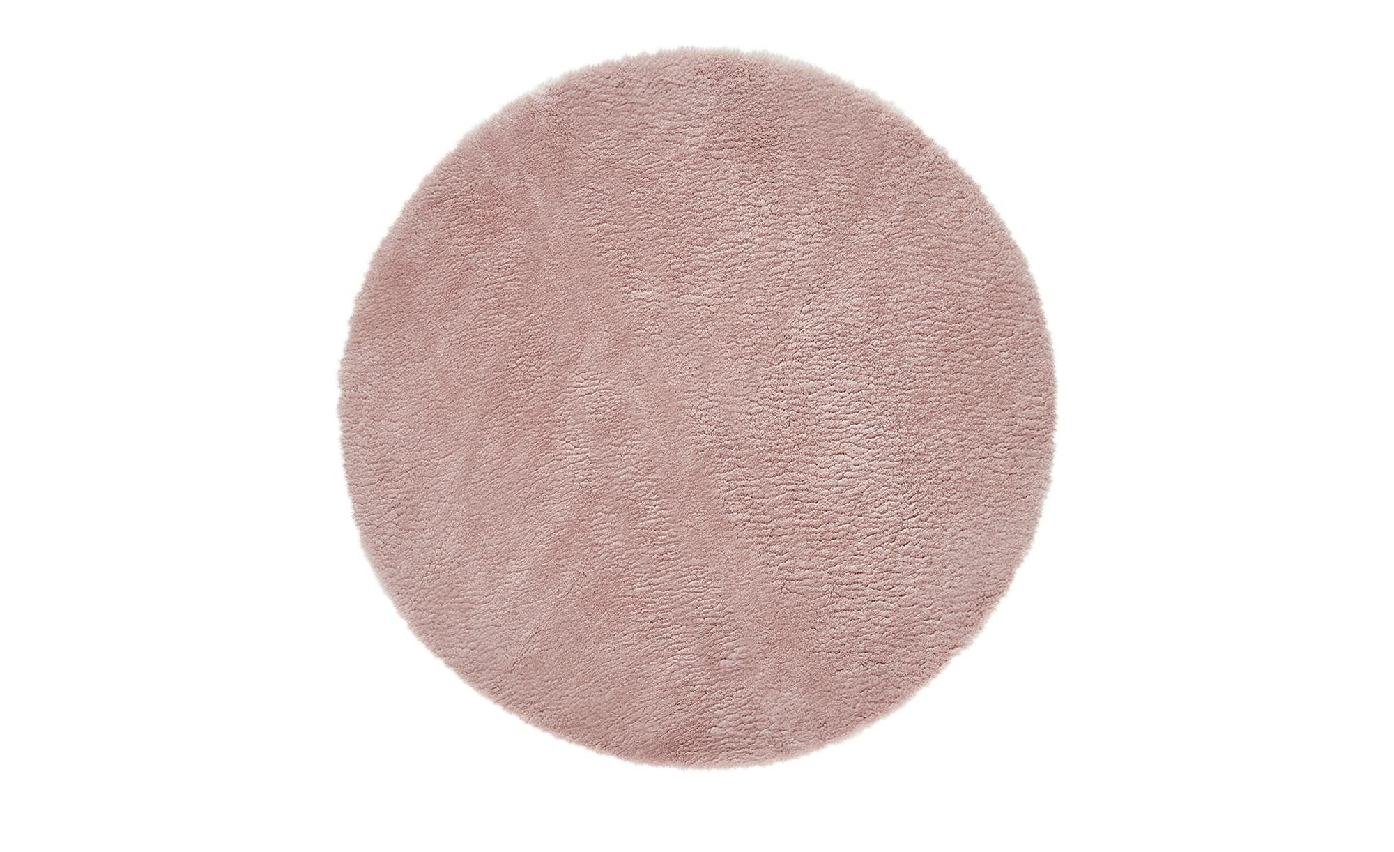 Kinderteppich  Lämmchen ¦ rosa/pink ¦ 100 % Polyester, Suede-Rücken, Lammfellimitat, Synthethische FasernØ: [120.0] Teppiche > Kinderteppiche - Höffner