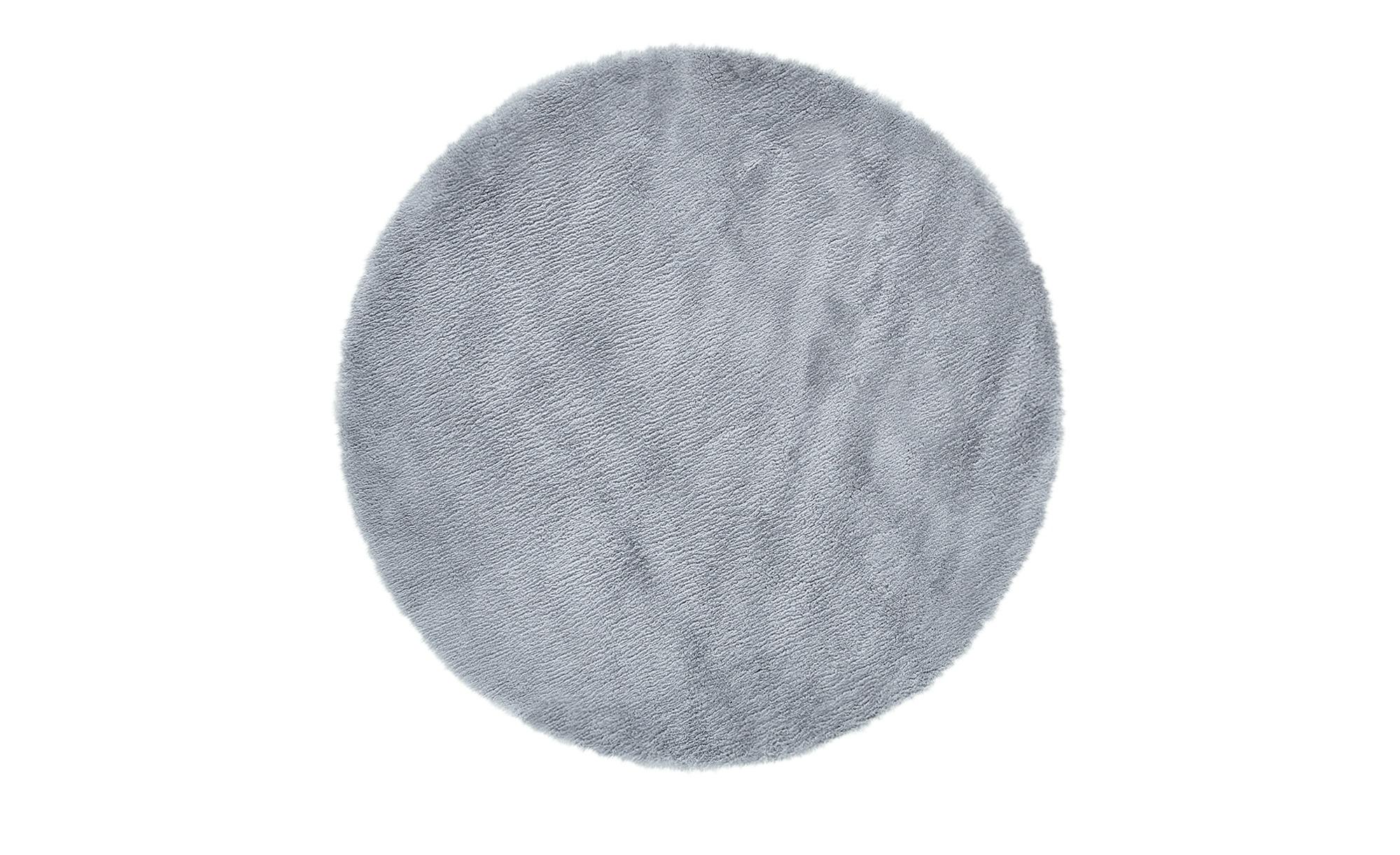 Kinderteppich  Lämmchen ¦ grau ¦ 100 % Polyester, Suede-Rücken, Lammfellimitat, Synthethische FasernØ: [120.0] Teppiche > Kinderteppiche - Höffner
