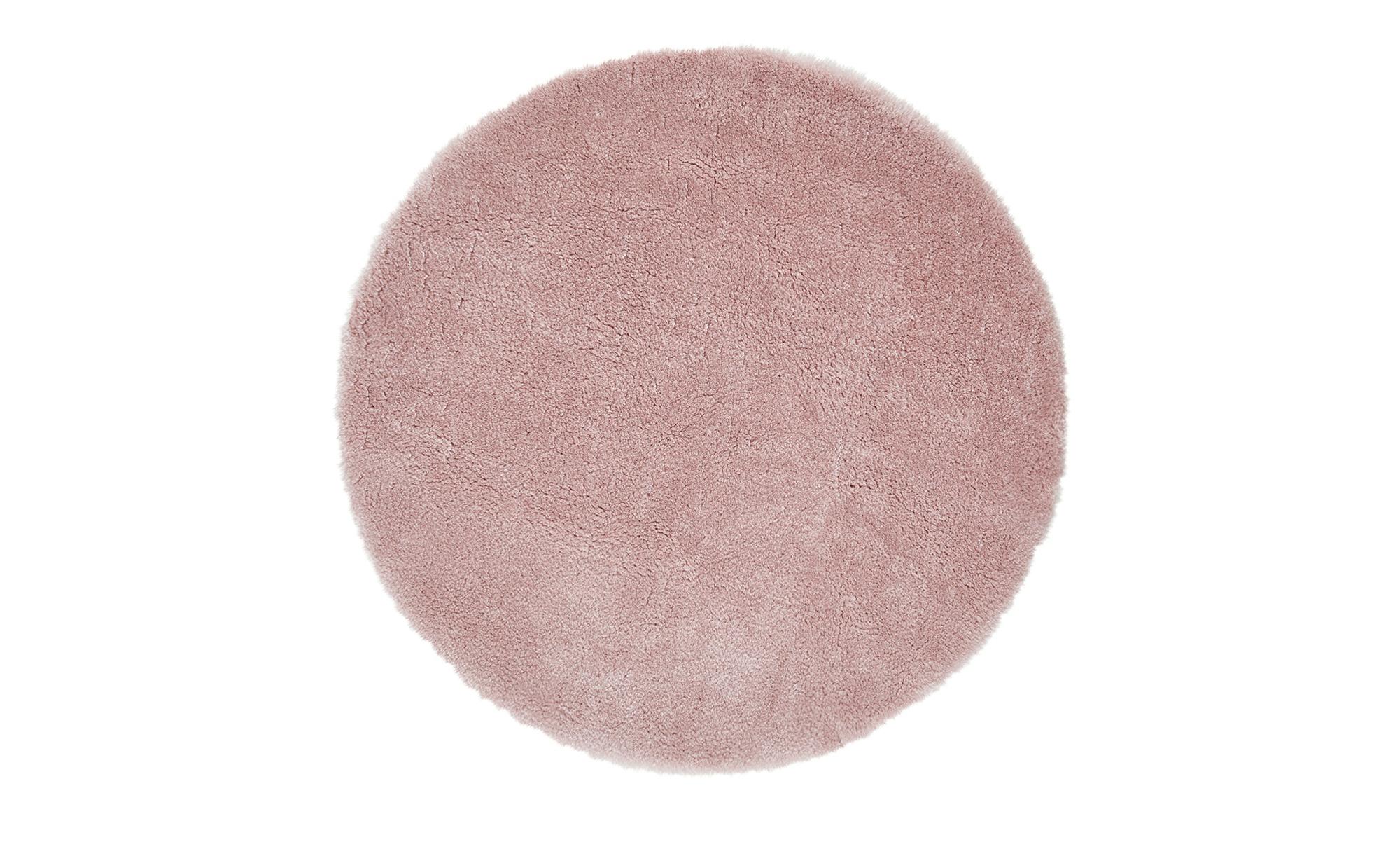 Kinderteppich  Lämmchen ¦ rosa/pink ¦ 100% Polyester, Suede-Rücken, Synthethische FasernØ: [80.0] Teppiche > Kinderteppiche - Höffner