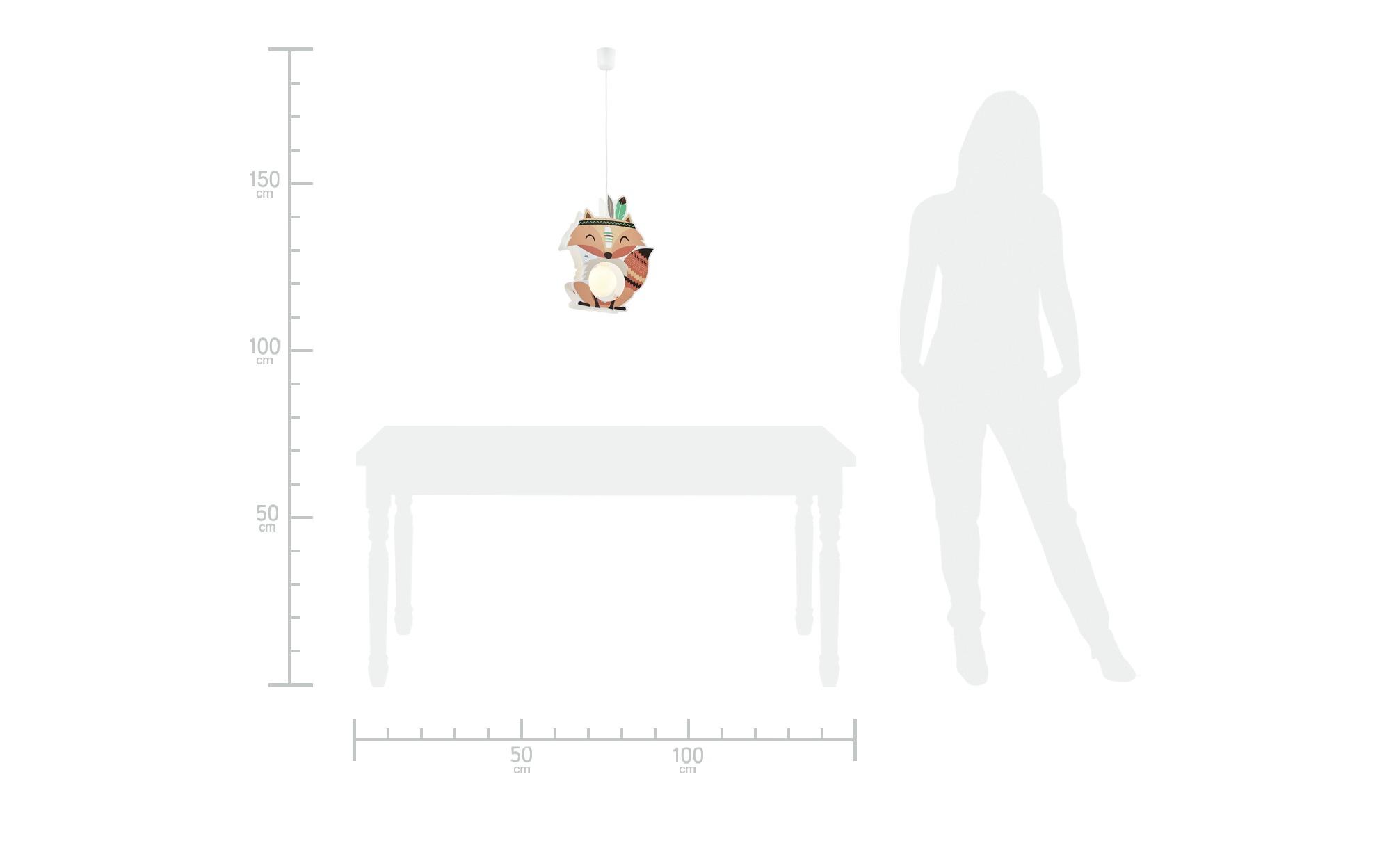 Pendelleuchte  Fuchs Filip ¦ orange ¦ Maße (cm): B: 35 T: 15 Lampen & Leuchten > Innenleuchten > Kinderlampen - Höffner