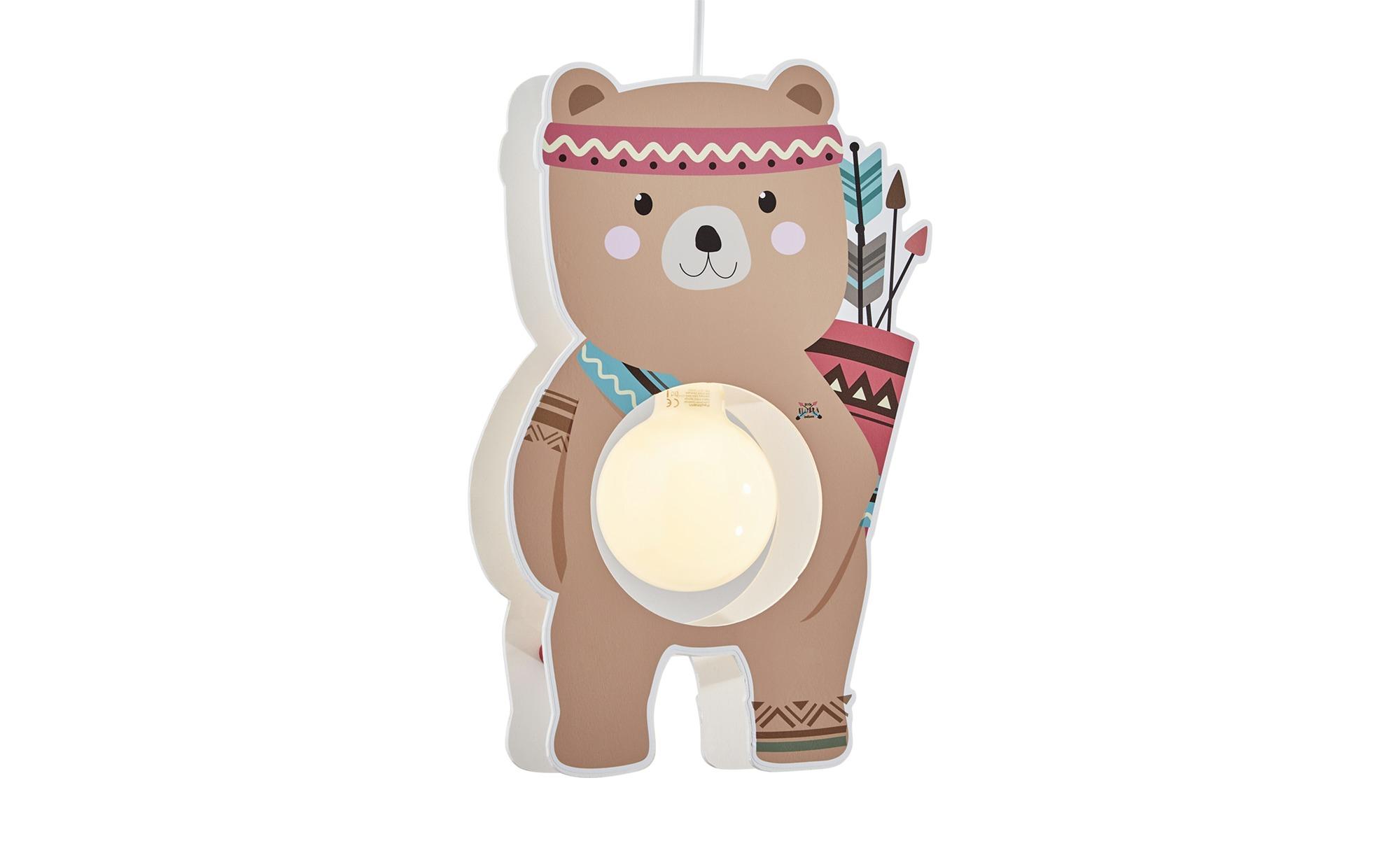 Pendelleuchte  Bär Björn ¦ braun ¦ Maße (cm): B: 35 T: 15 Lampen & Leuchten > Innenleuchten > Kinderlampen - Höffner