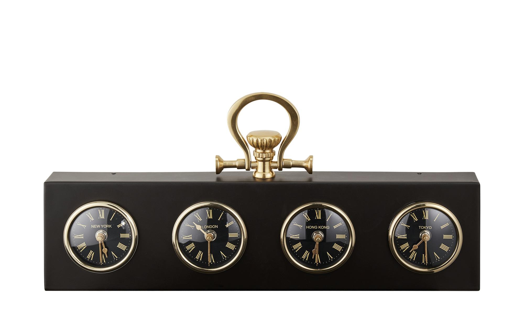 Uhr ¦ gold ¦ Maße (cm): B: 50 H: 24 T: 5 Dekoration > Uhren & Wetterstationen - Höffner | Baumarkt > Heizung und Klima > Klimageräte | Möbel Höffner DE