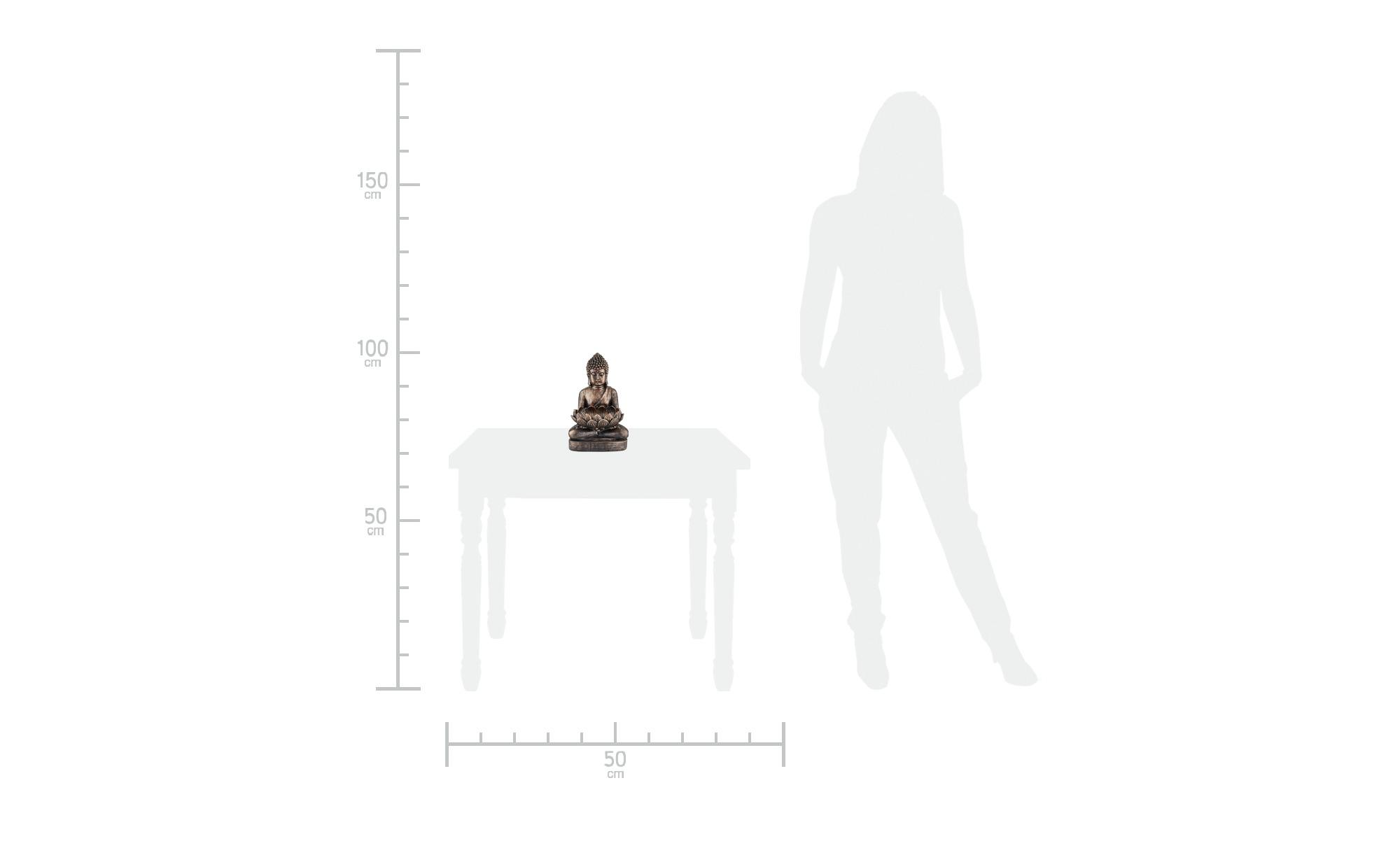 Deko Buddha ¦ kupfer Dekoration > Dekoartikel - Höffner | Dekoration > Wandtattoos > Wanddekoration | Kupfer | Möbel Höffner DE