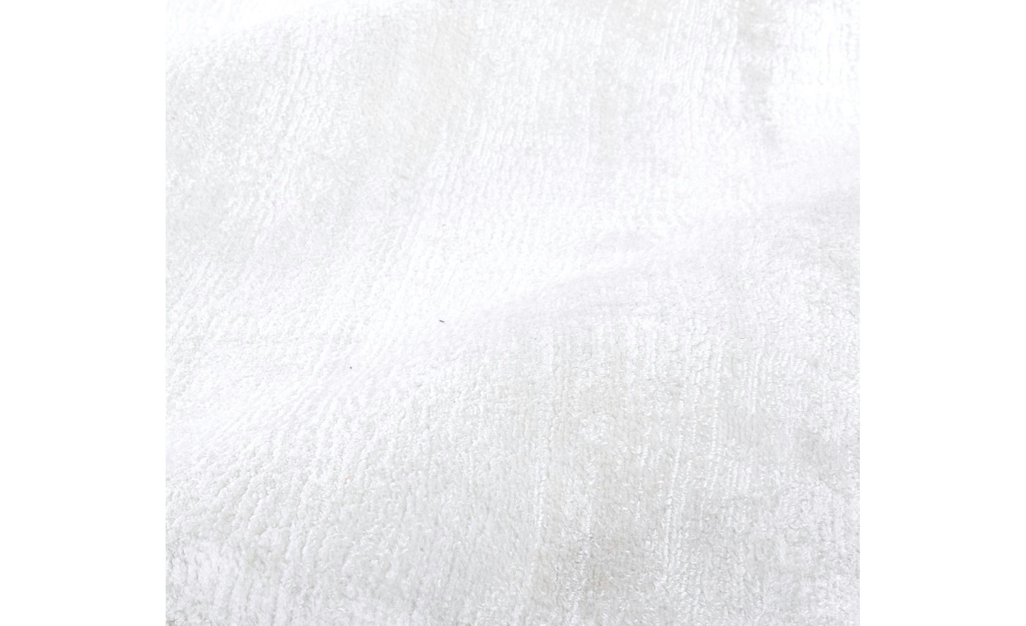 Tom Tailor Teppich handgewebt  Shine ¦ weiß ¦ reine Viskose ¦ Maße (cm): B: 65 Teppiche > Wohnteppiche - Höffner