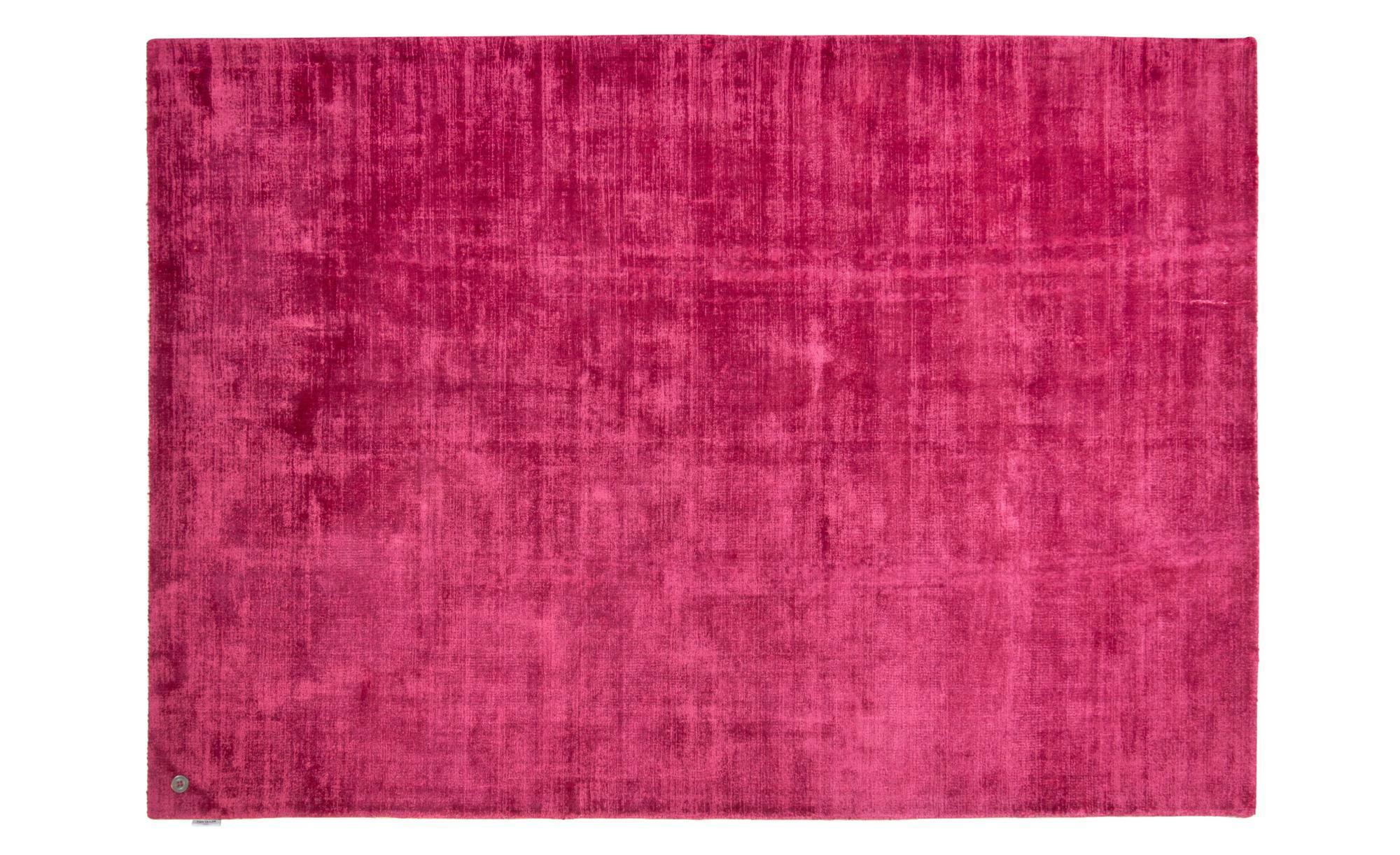 Tom Tailor Teppich handgewebt  Shine ¦ lila/violett ¦ reine Viskose ¦ Maße (cm): B: 140 Teppiche > Wohnteppiche - Höffner