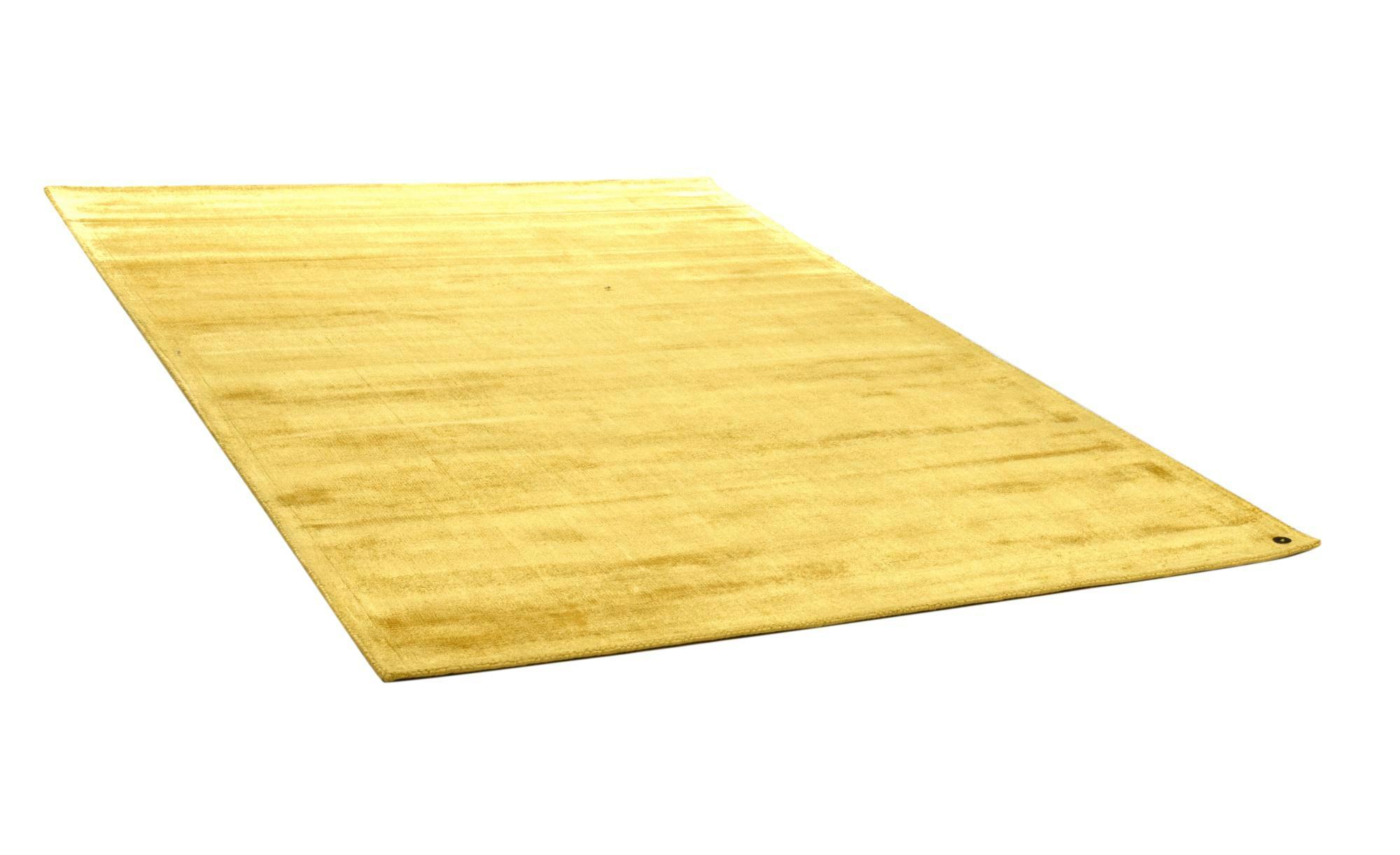 Tom Tailor Teppich handgewebt  Shine ¦ gelb ¦ reine Viskose ¦ Maße (cm): B: 160 Teppiche > Wohnteppiche - Höffner
