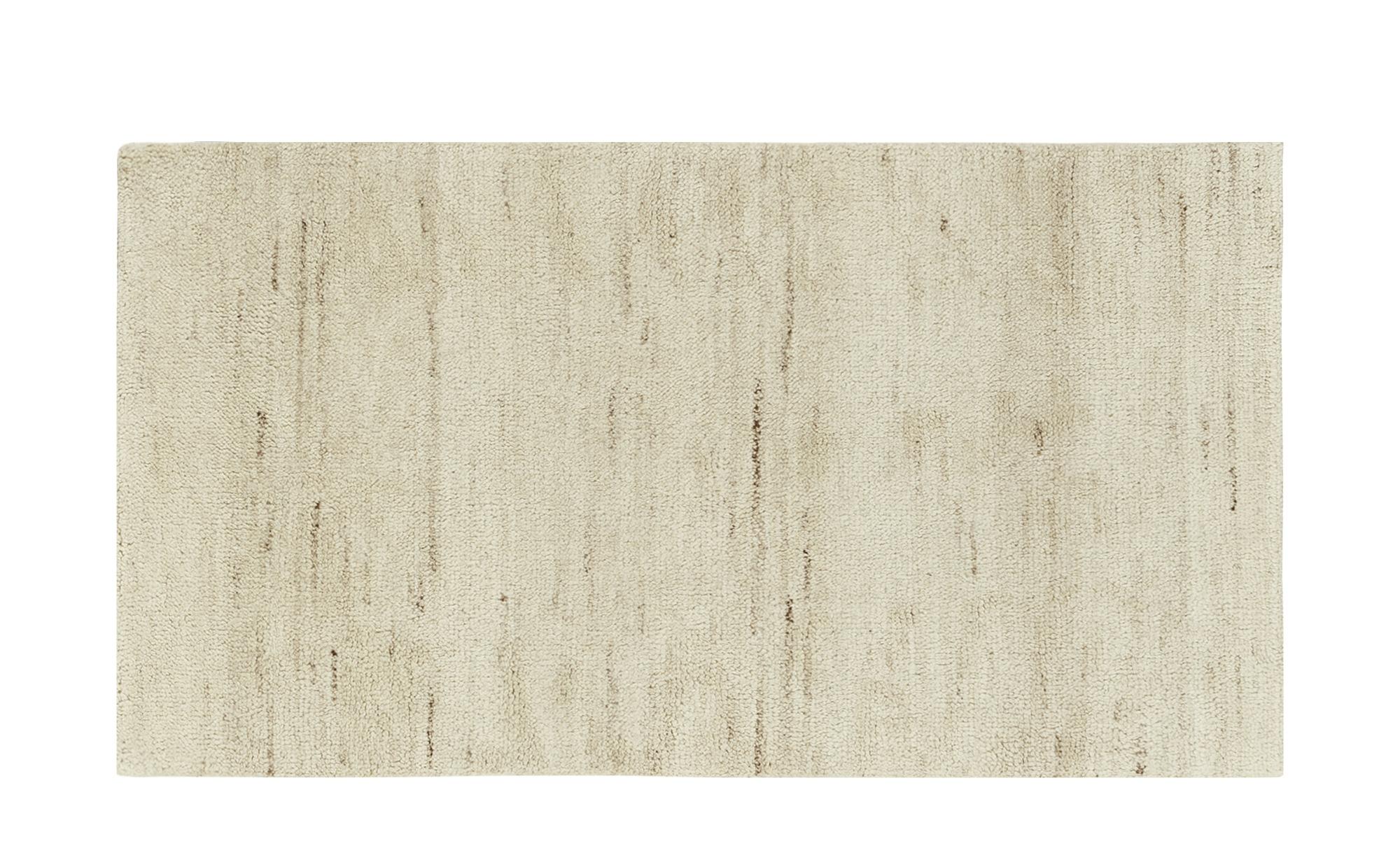 Berber-Teppich  Marrakesh simple ¦ creme ¦ reine Wolle, Wolle ¦ Maße (cm): B: 90 Teppiche > Wohnteppiche > Naturteppiche - Höffner | Heimtextilien > Teppiche > Berberteppiche | Möbel Höffner DE