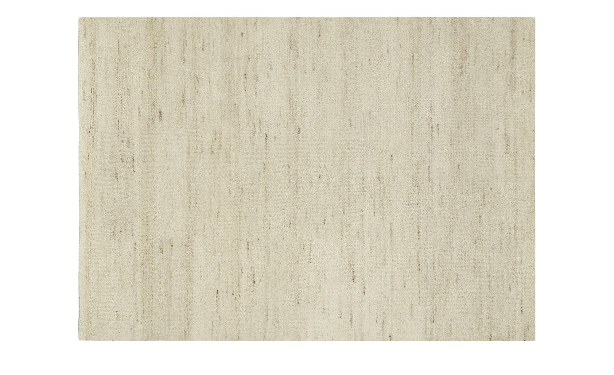 Berber-Teppich  Marrakesh simple ¦ creme ¦ reine Wolle| Wolle ¦ Maße (cm): B: 170 Teppiche > Wohnteppiche > Naturteppiche - Höffner | Heimtextilien > Teppiche > Berberteppiche | Möbel Höffner DE