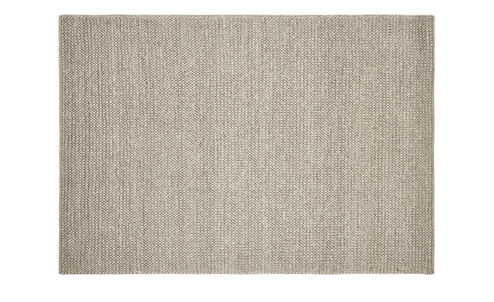 Handwebteppich  Ruhpolding ¦ creme ¦ 100% Wolle, Wolle ¦ Maße (cm): B: 130 Teppiche > Wohnteppiche - Höffner