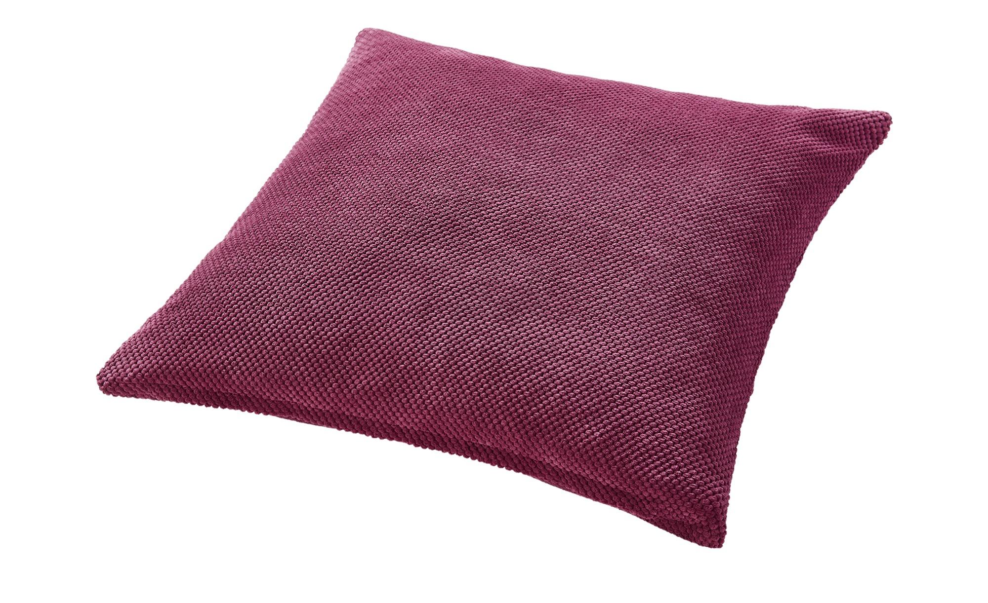 HOME STORY Bodenkissen  Lisa ¦ lila/violett ¦ Polyester ¦ Maße (cm): B: 70 Heimtextilien > Kissen > Bodenkissen - Höffner