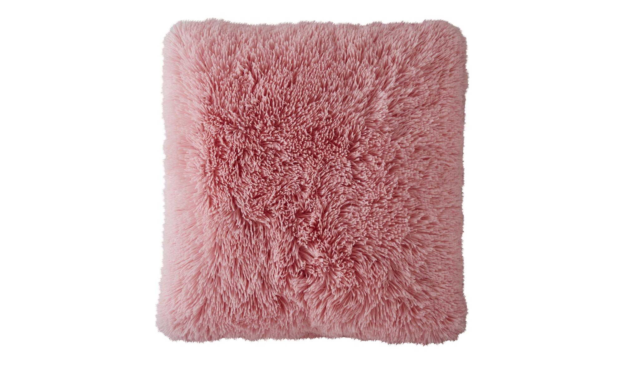 for friends Kissen  Fluffi ¦ rosa/pink ¦ Polyester ¦ Maße (cm): B: 48 Heimtextilien > Kissen > Dekokissen - Höffner