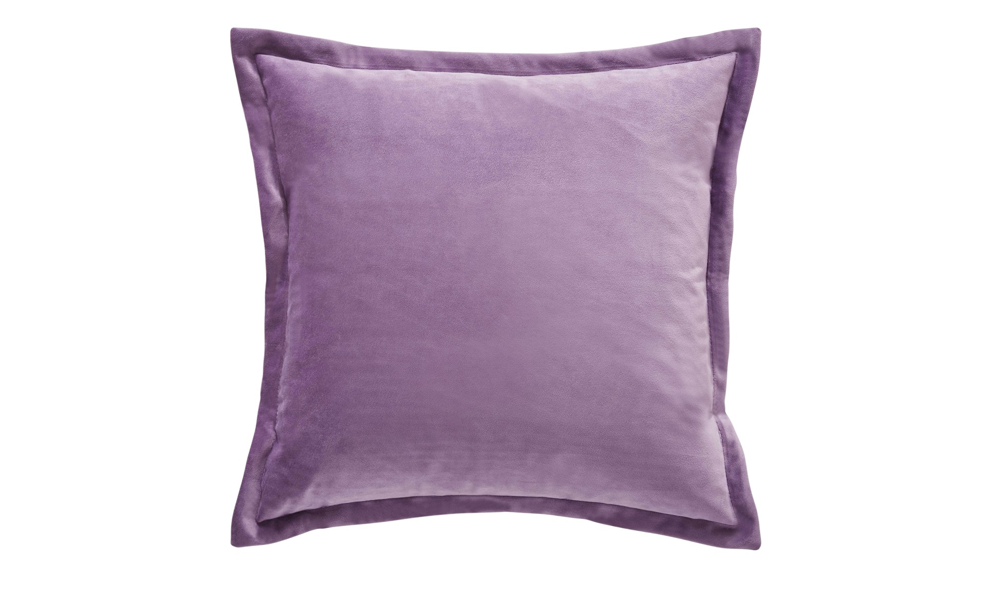 HOME STORY Kissen  Charlotte ¦ lila/violett ¦ Maße (cm): B: 45 H: 2,5 T: 2,5 Heimtextilien > Kissen > Dekokissen - Höffner
