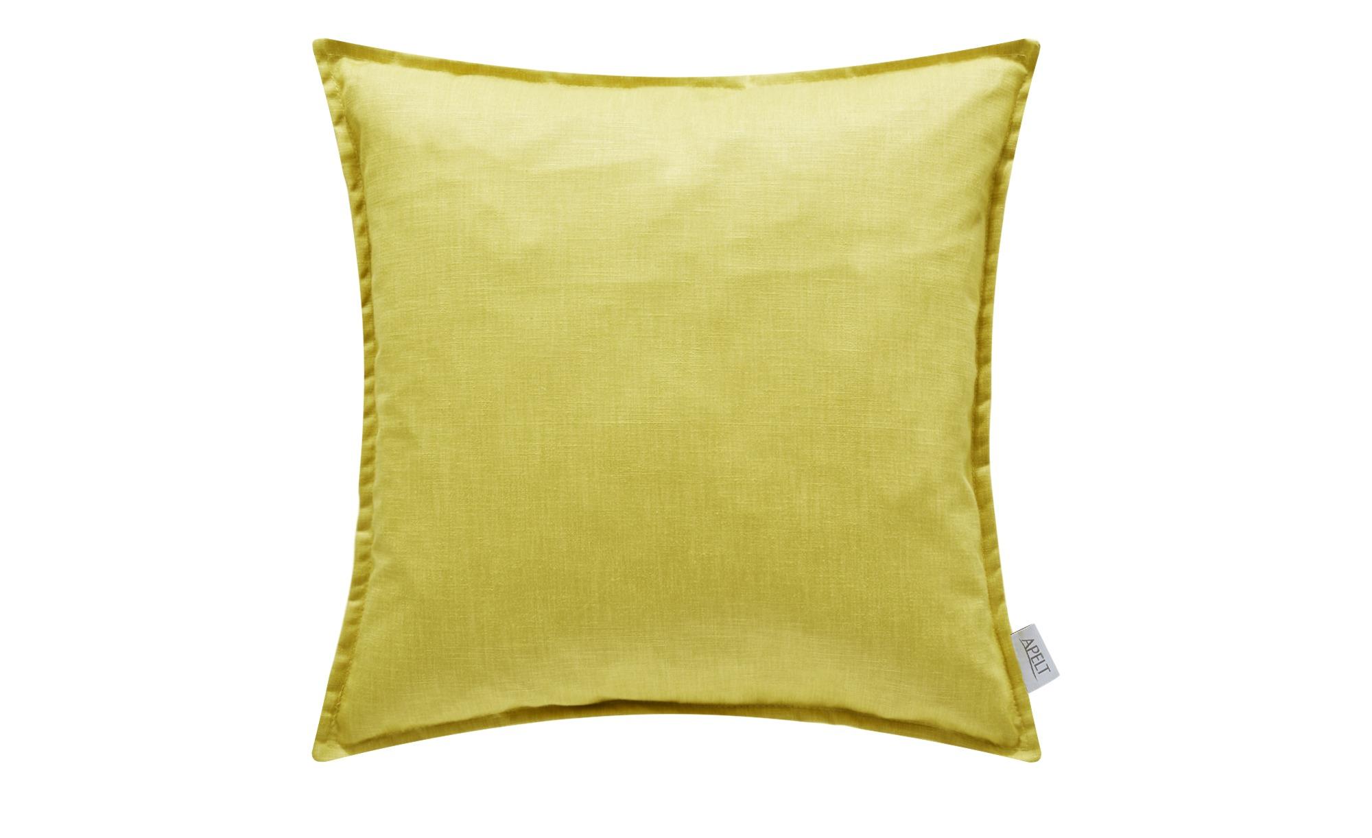 Apelt Kissen  Alaska ¦ gelb ¦ 100% Federfüllung ¦ Maße (cm): B: 39 Heimtextilien > Kissen > Dekokissen - Höffner