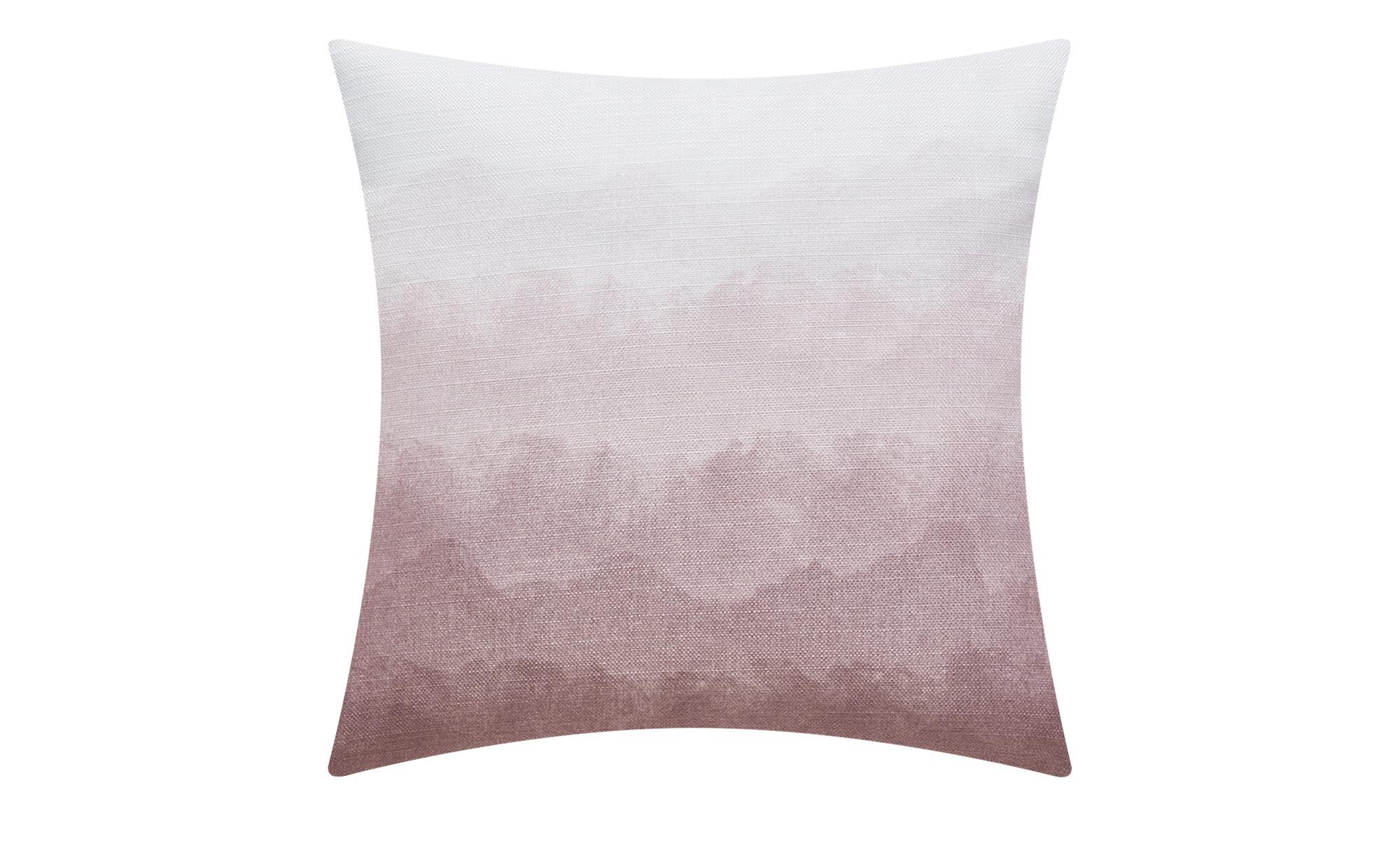 HOME STORY Kissen  Batik ¦ lila/violett ¦ 100% Polyesterfüllung ¦ Maße (cm): B: 48 Heimtextilien > Kissen > Dekokissen - Höffner