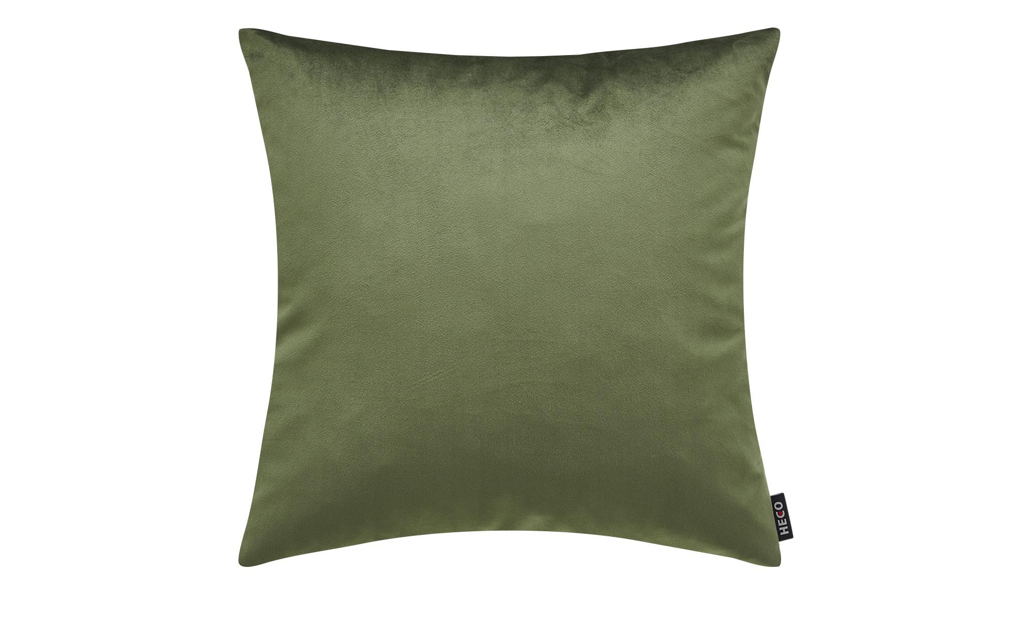 Wendekissen  Fluffy ¦ grün ¦ 100% Federfüllung ¦ Maße (cm): B: 45 Heimtextilien > Kissen > Dekokissen - Höffner