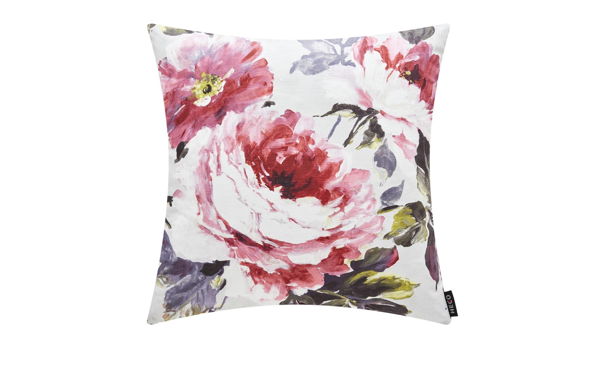 Wendekissen  Flower 2 ¦ lila/violett ¦ 100% Federfüllung ¦ Maße (cm): B: 48 Heimtextilien > Kissen > Dekokissen - Höffner