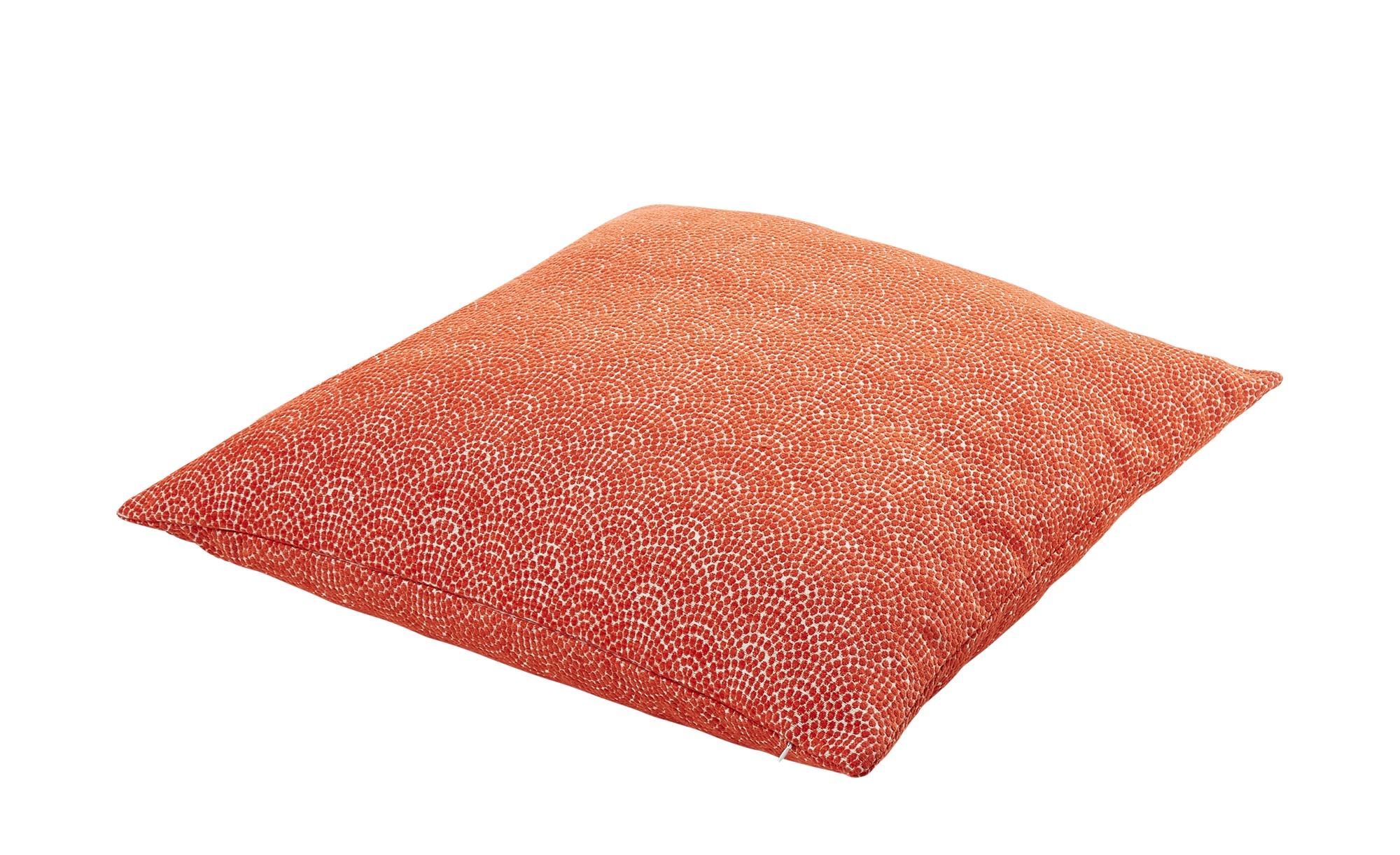 LAVIDA Bodenkissen  Kathi ¦ orange ¦ 100% Polyesterfüllung ¦ Maße (cm): B: 70 Heimtextilien > Kissen > Dekokissen - Höffner