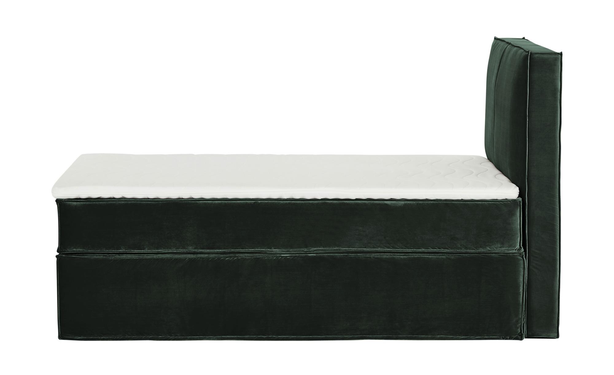 Boxspringbett 140 x 200 cm  Boxi Urbn ¦ grün ¦ Maße (cm): B: 140 H: 125 Betten > Boxspringbetten > Boxspringbetten 140x200 - Höffner