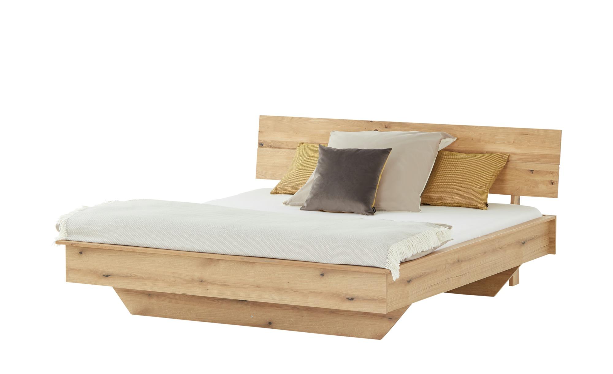 smart Doppelbettgestell  Oslo ¦ holzfarben ¦ Maße (cm): B: 191 H: 90 T: 207 Betten > Futonbetten - Höffner
