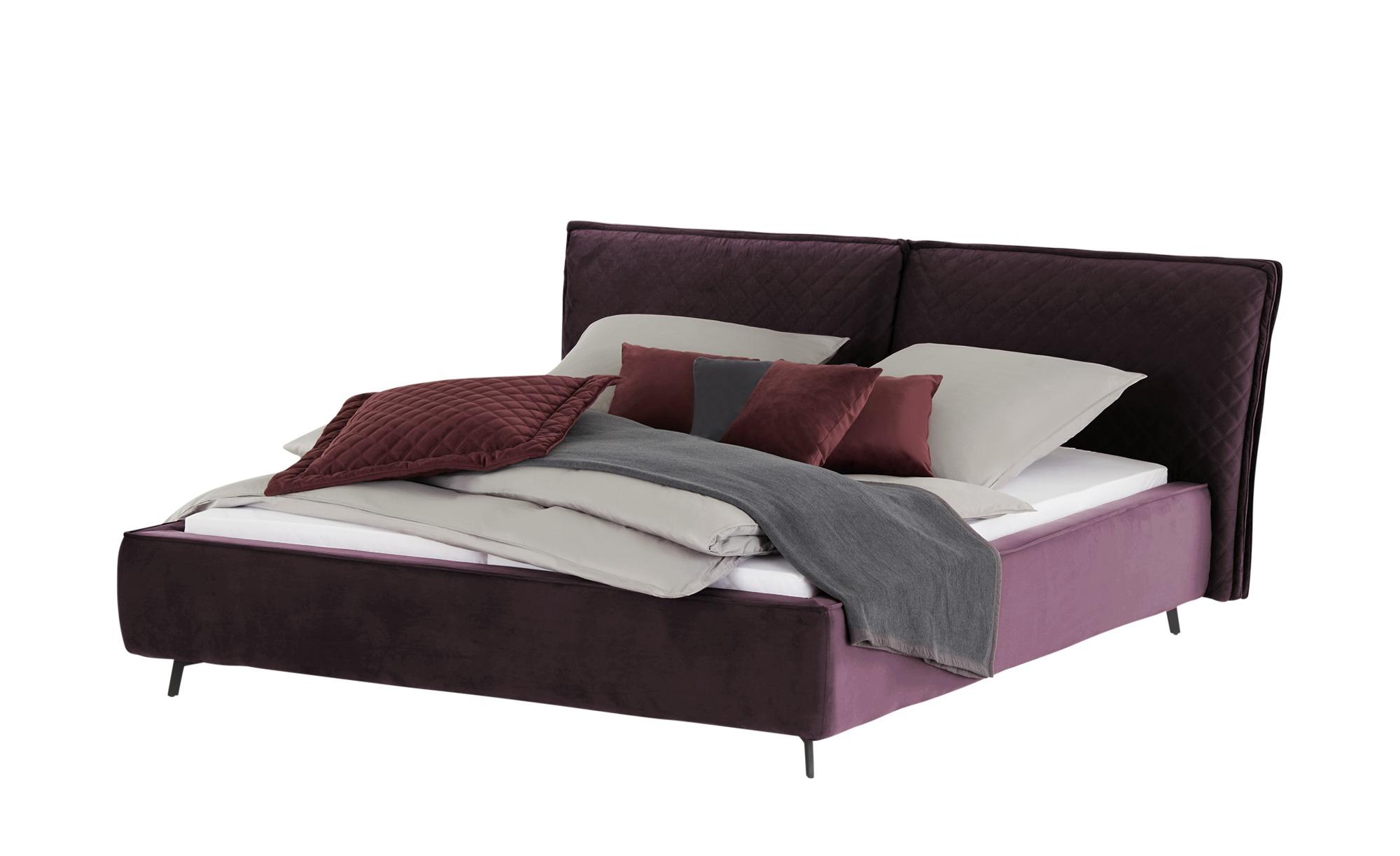 pop Polsterbettgestell  Sunset ¦ lila/violett ¦ Maße (cm): B: 223 H: 105 Betten > Polsterbetten - Höffner