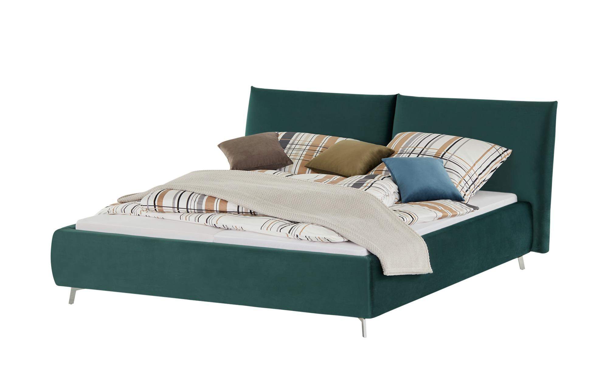 pop Polsterbettgestell  Homelike ¦ grün ¦ Maße (cm): B: 212 H: 105 Betten > Polsterbetten - Höffner