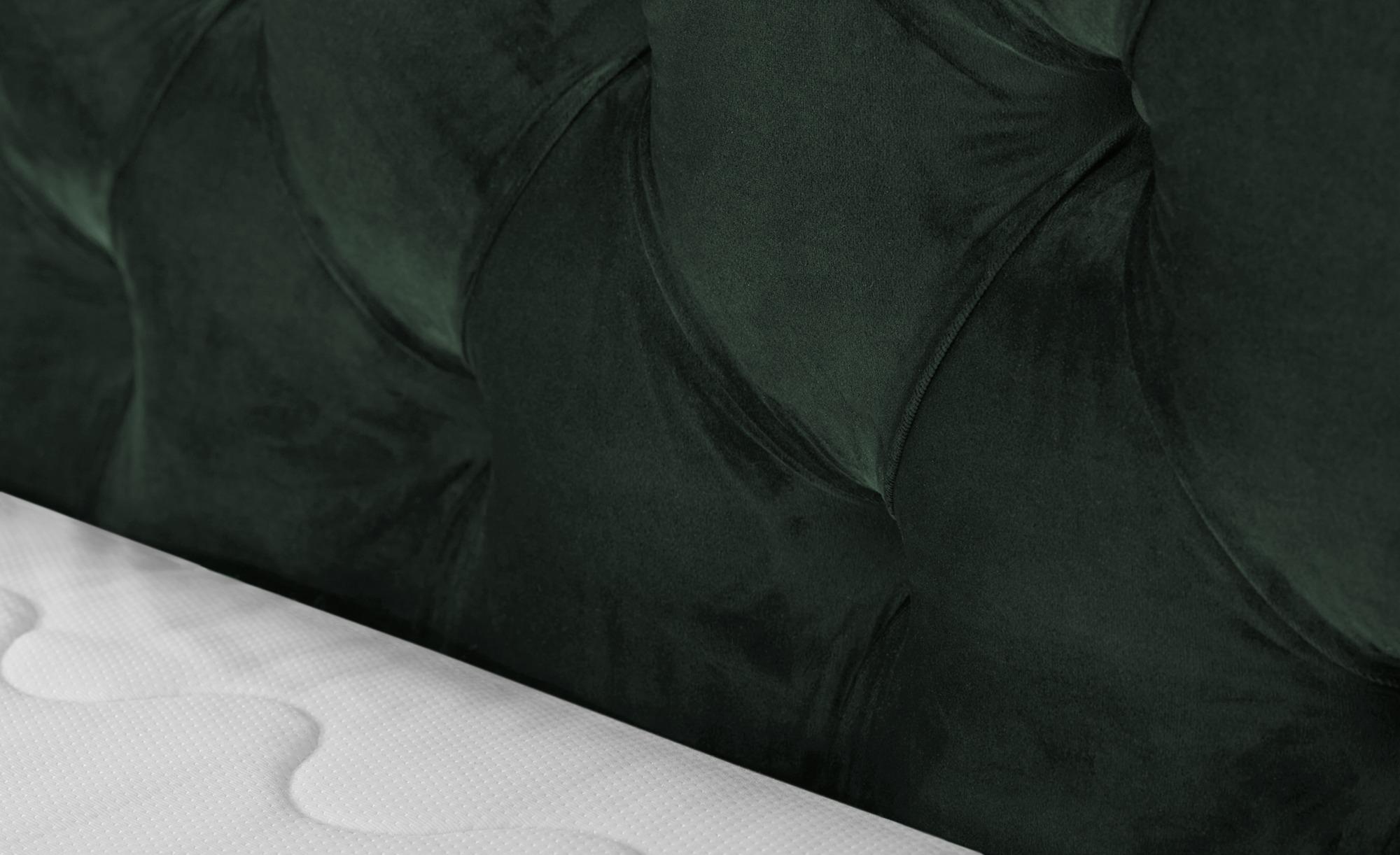 SKAGEN BEDS Boxspringbett  Laesa ¦ grün ¦ Maße (cm): B: 215 H: 122 Betten > Boxspringbetten > Boxspringbetten 140x200 - Höffner