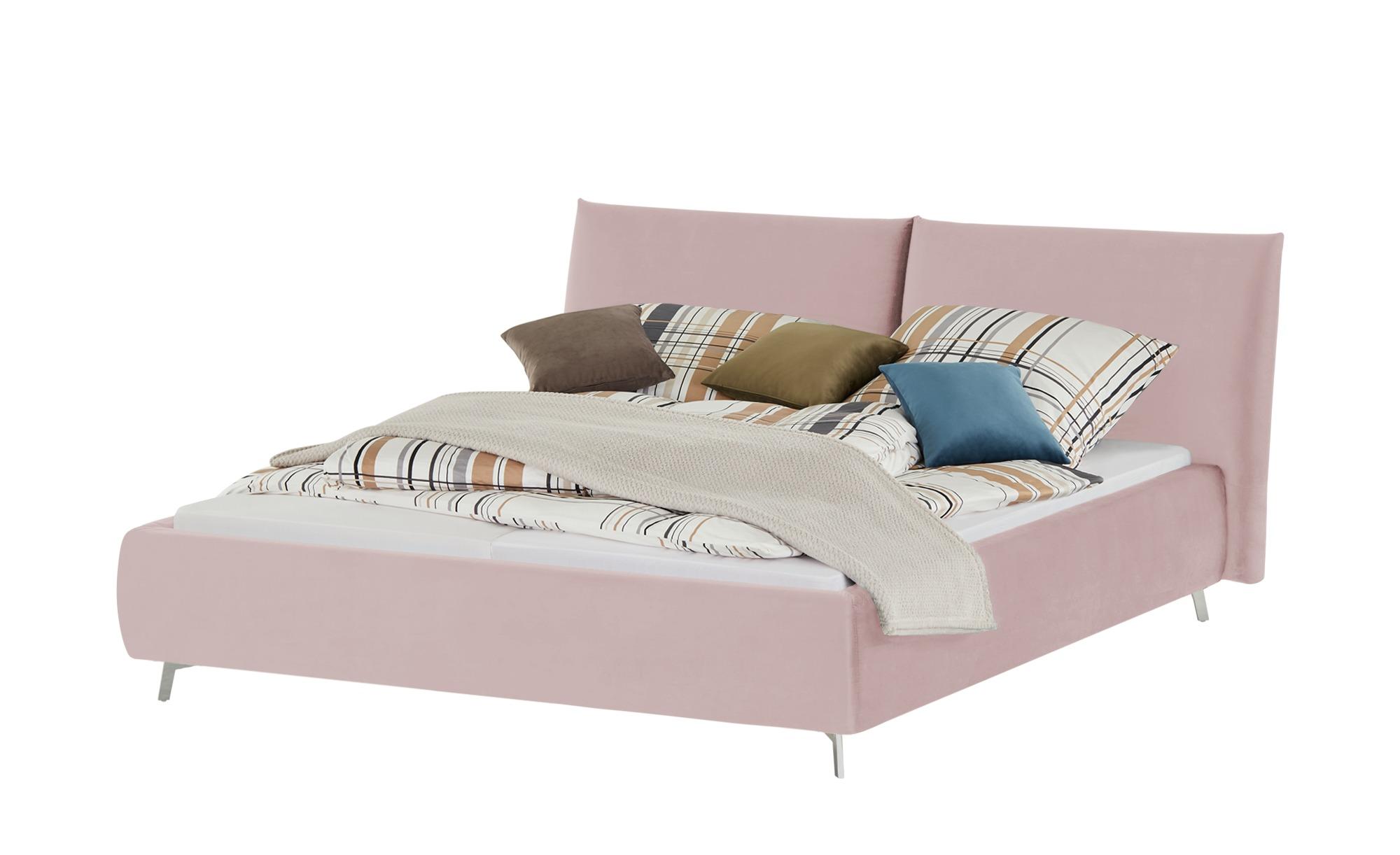 pop Polsterbettgestell  Homelike ¦ rosa/pink ¦ Maße (cm): B: 192 H: 105 Betten > Polsterbetten - Höffner