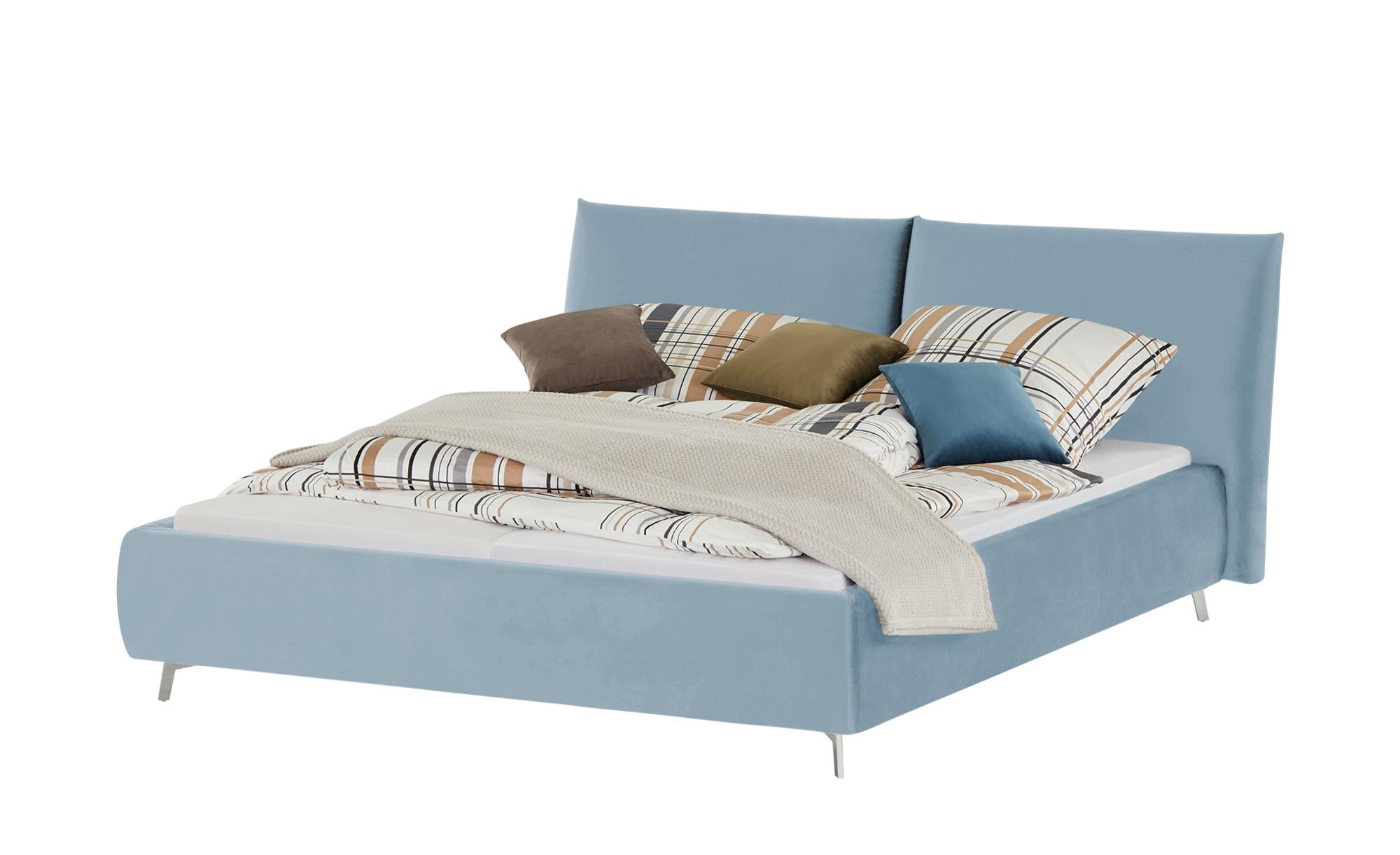 pop Polsterbettgestell  Homelike ¦ blau ¦ Maße (cm): B: 192 H: 105 Betten > Polsterbetten - Höffner