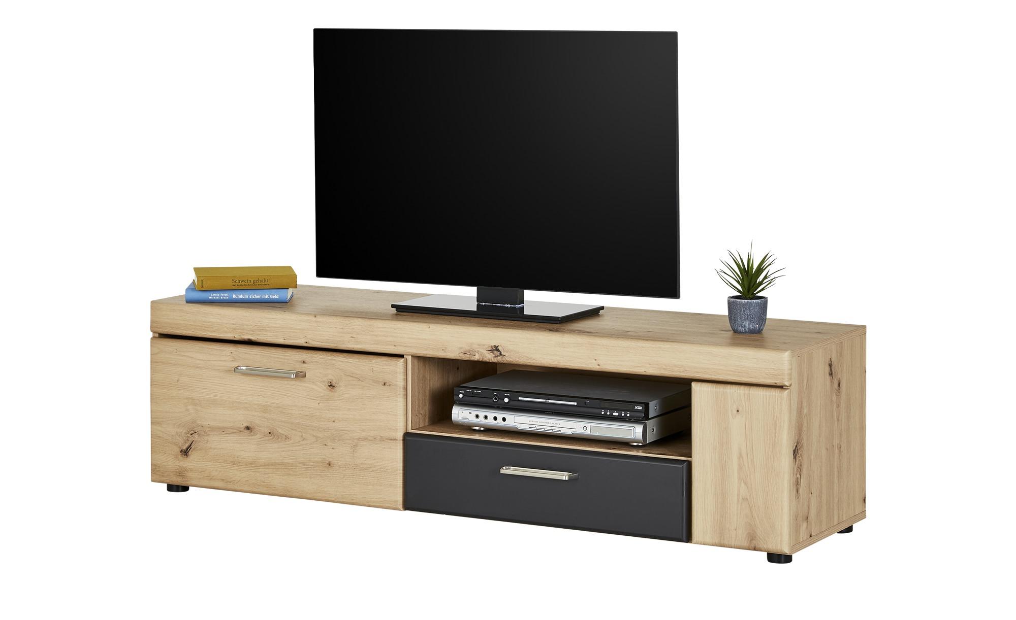 TV-Lowboard  Pavona ¦ holzfarben ¦ Maße (cm): B: 148,5 H: 41,6 T: 41,1 TV- & Media Möbel > TV-Racks - Höffner