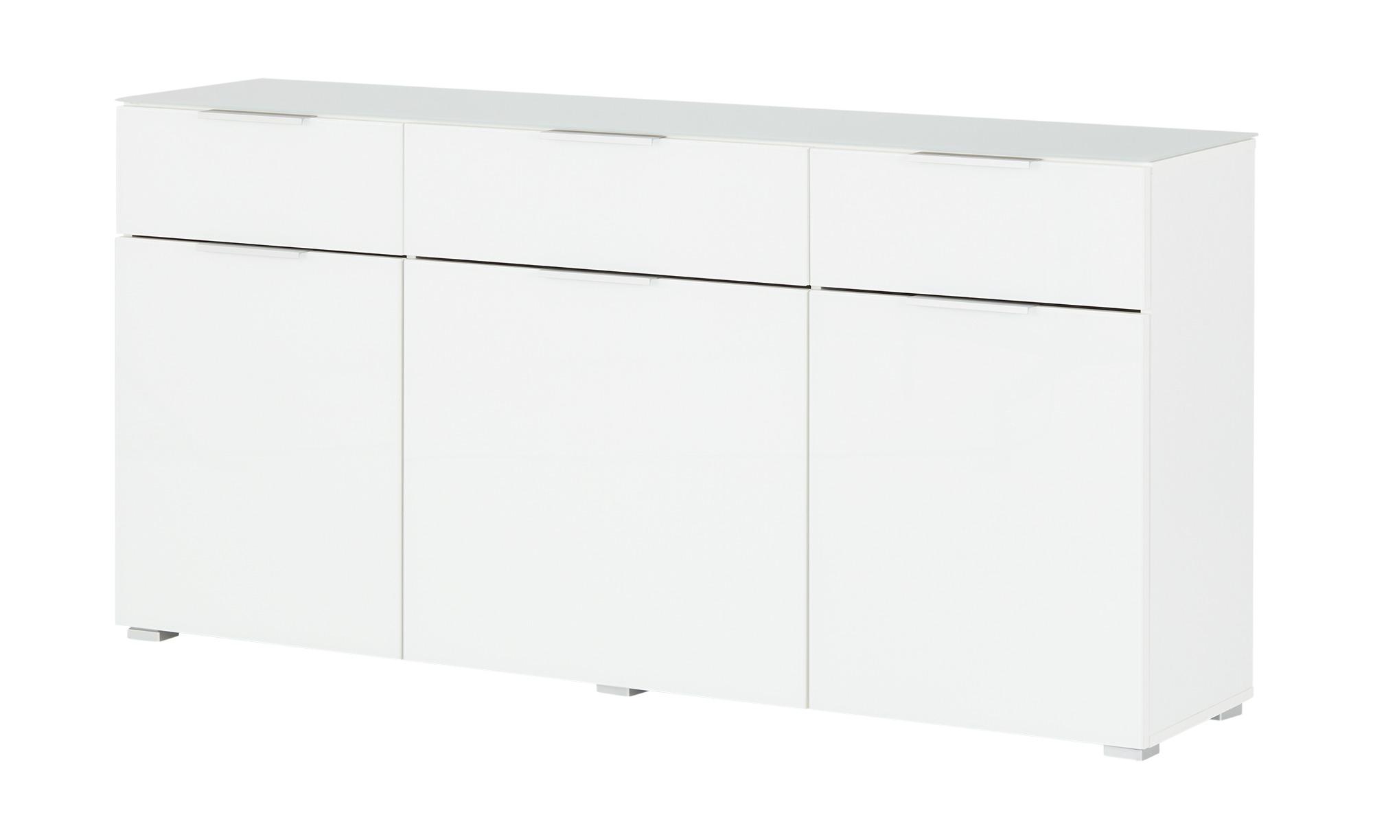 Sideboard  Vetro ¦ weiß ¦ Maße (cm): B: 165 H: 80 T: 38 Kommoden & Sideboards > Sideboards - Höffner