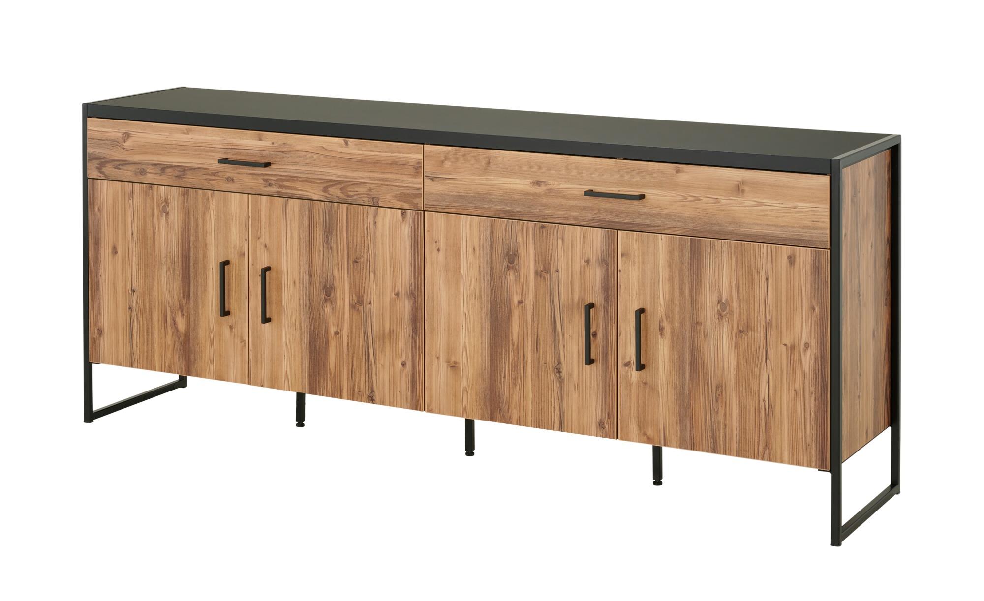 Sideboard  Abeto ¦ holzfarben ¦ Maße (cm): B: 204 H: 83 T: 45 Kommoden & Sideboards > Sideboards - Höffner