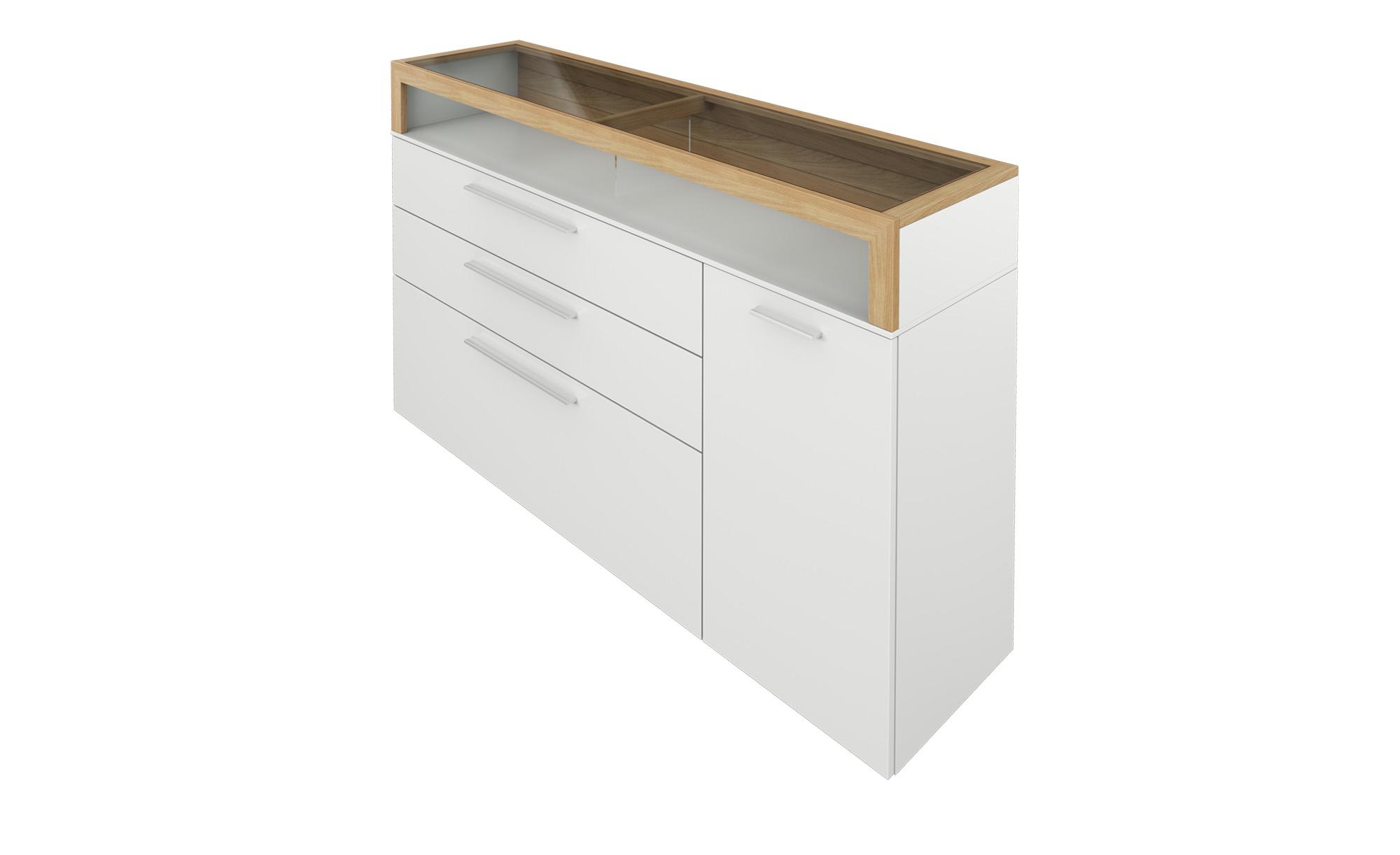 Gallery M Sideboard  Arrive ¦ weiß ¦ Maße (cm): B: 166 H: 100 T: 43 Kommoden & Sideboards > Sideboards - Höffner